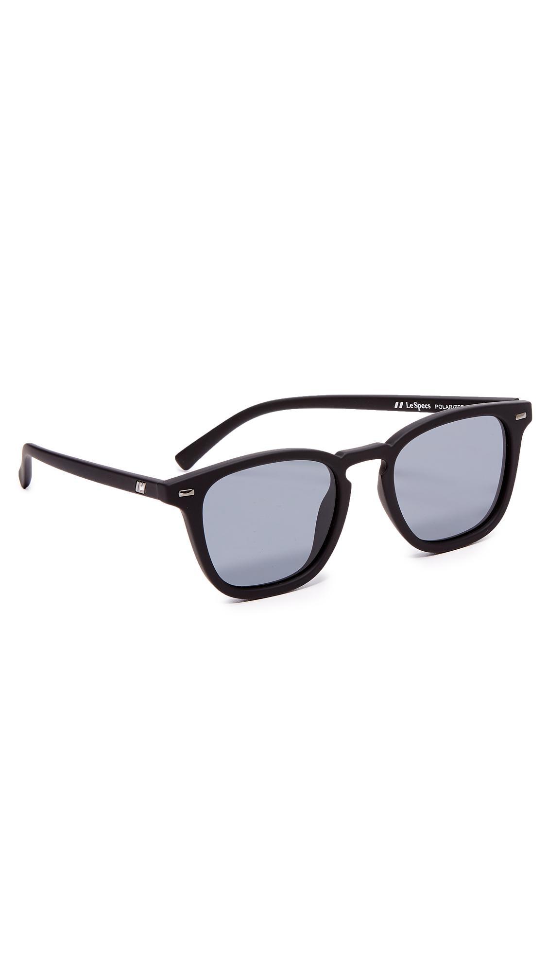 e53cbf9aa5 Le Specs No Biggie Sunglasses in Black for Men - Lyst