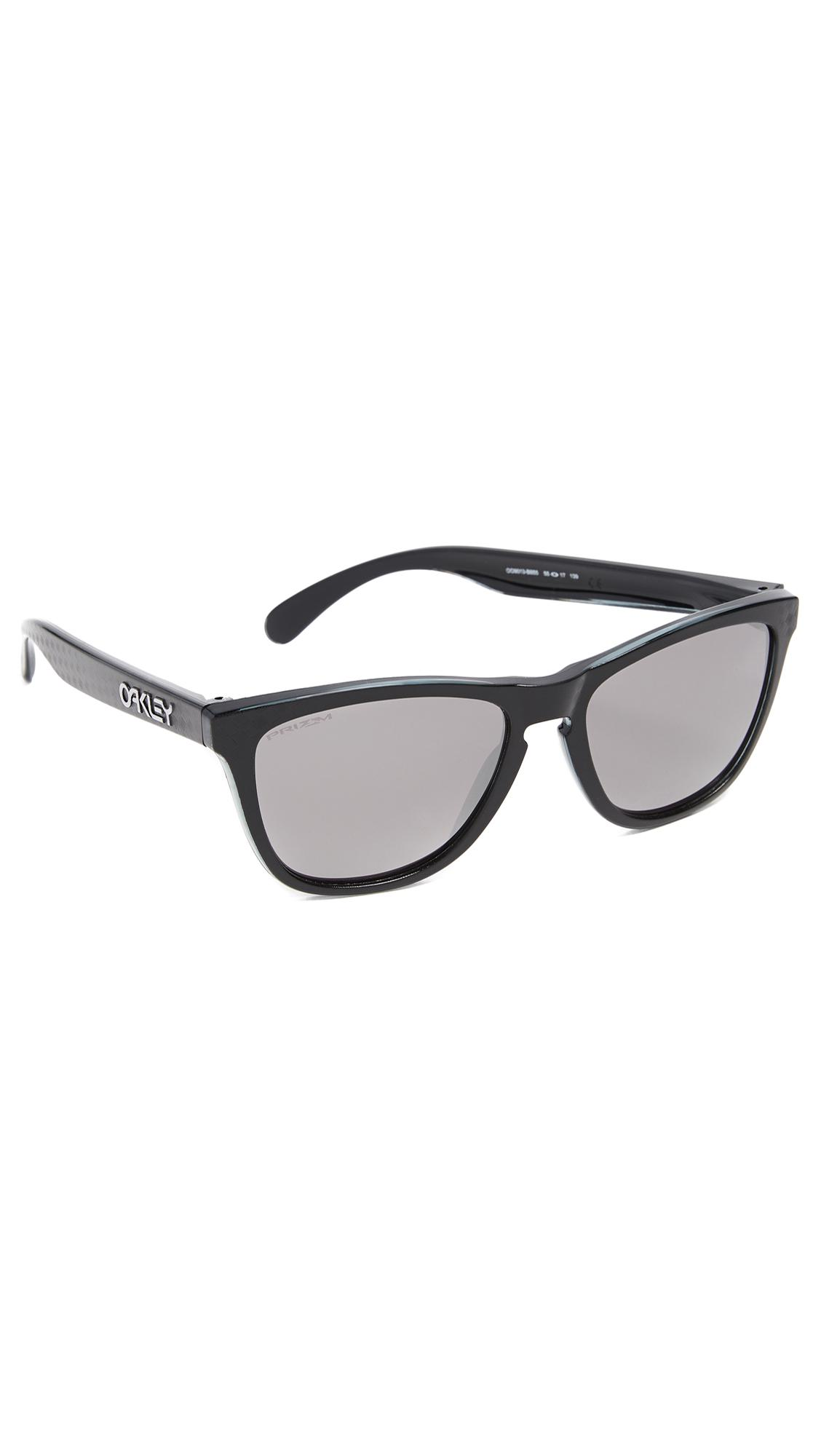 1887ce8a63 Lyst - Oakley Frogskins Prizm Checkbox Sunglasses in Black for Men