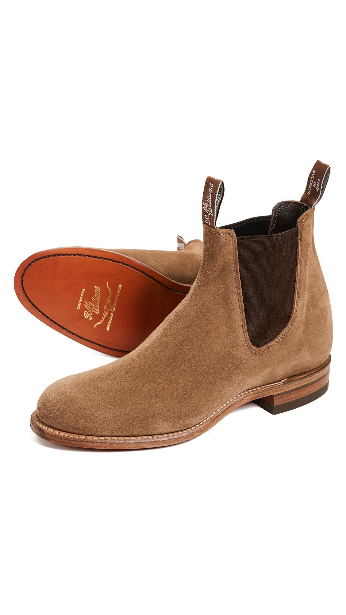 Flat Heel Boots - Saddle R.M. Williams PXq6AUq