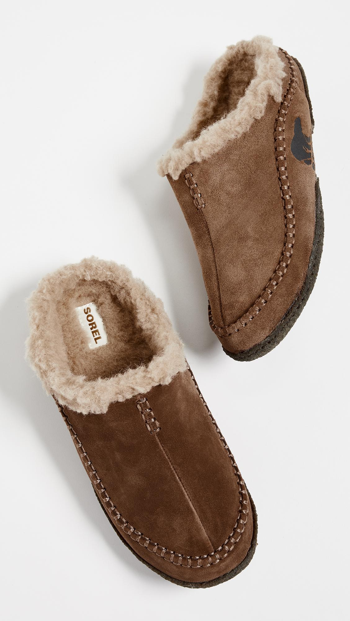 f83bc0dbdeb7 Sorel - Brown Falcon Ridge Slippers for Men - Lyst. View fullscreen