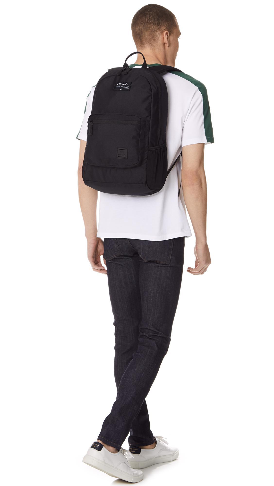 f45ce0da0a91 Lyst - RVCA Estate Backpack in Black for Men