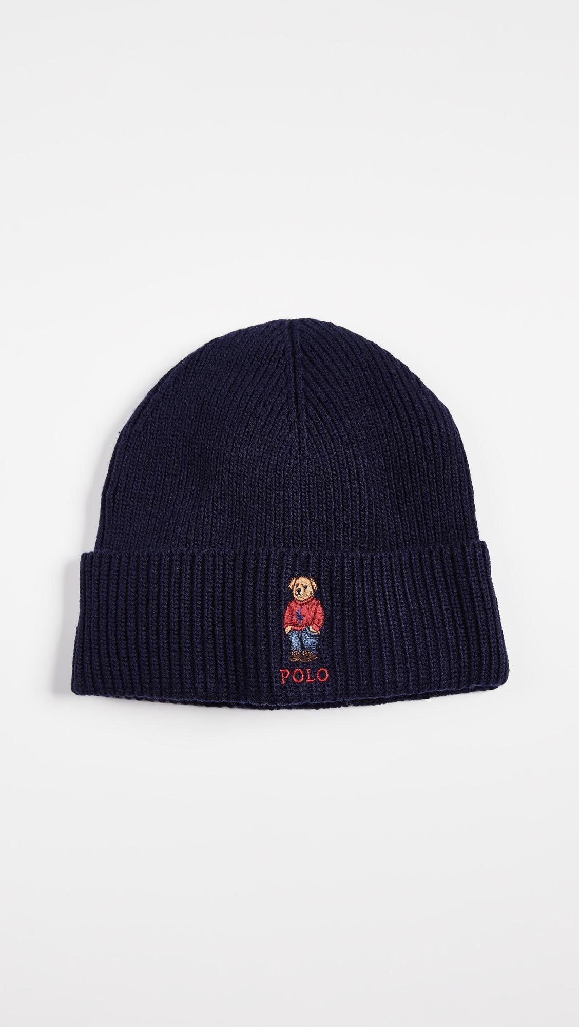 Polo Ralph Lauren Polo Pony Bear Hat in Blue for Men - Lyst fe19a7dc9ac8