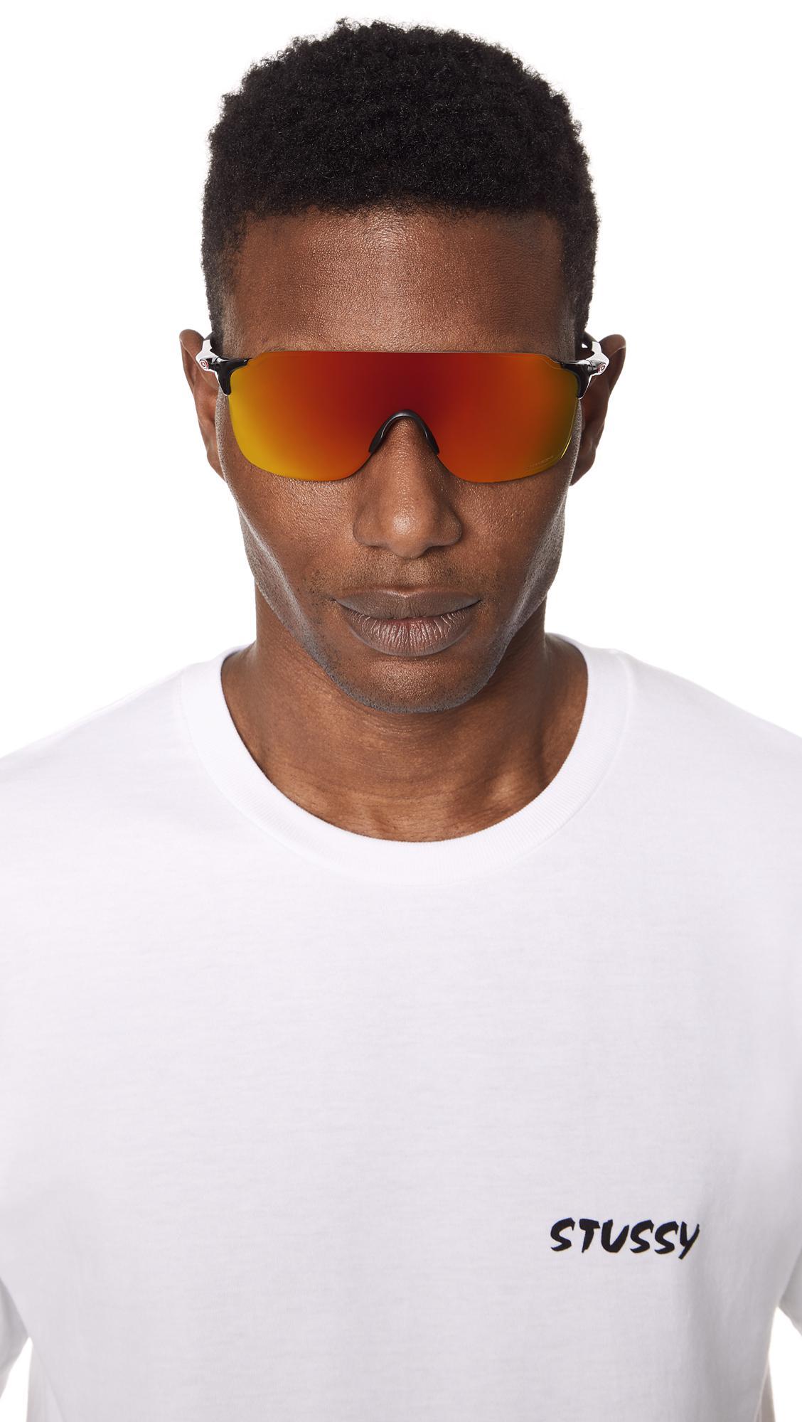 27186bb0a61bcd Oakley - Multicolor Evzero Stride Prizm Sunglasses for Men - Lyst. View  fullscreen