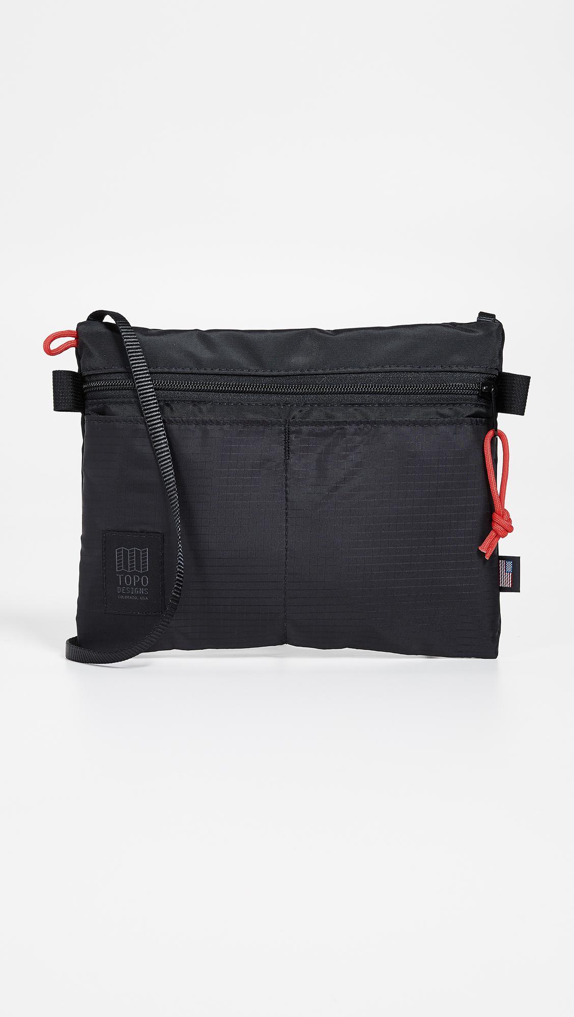 a84b68f0659f Topo Designs Accessory Shoulder Bag in Black for Men - Lyst