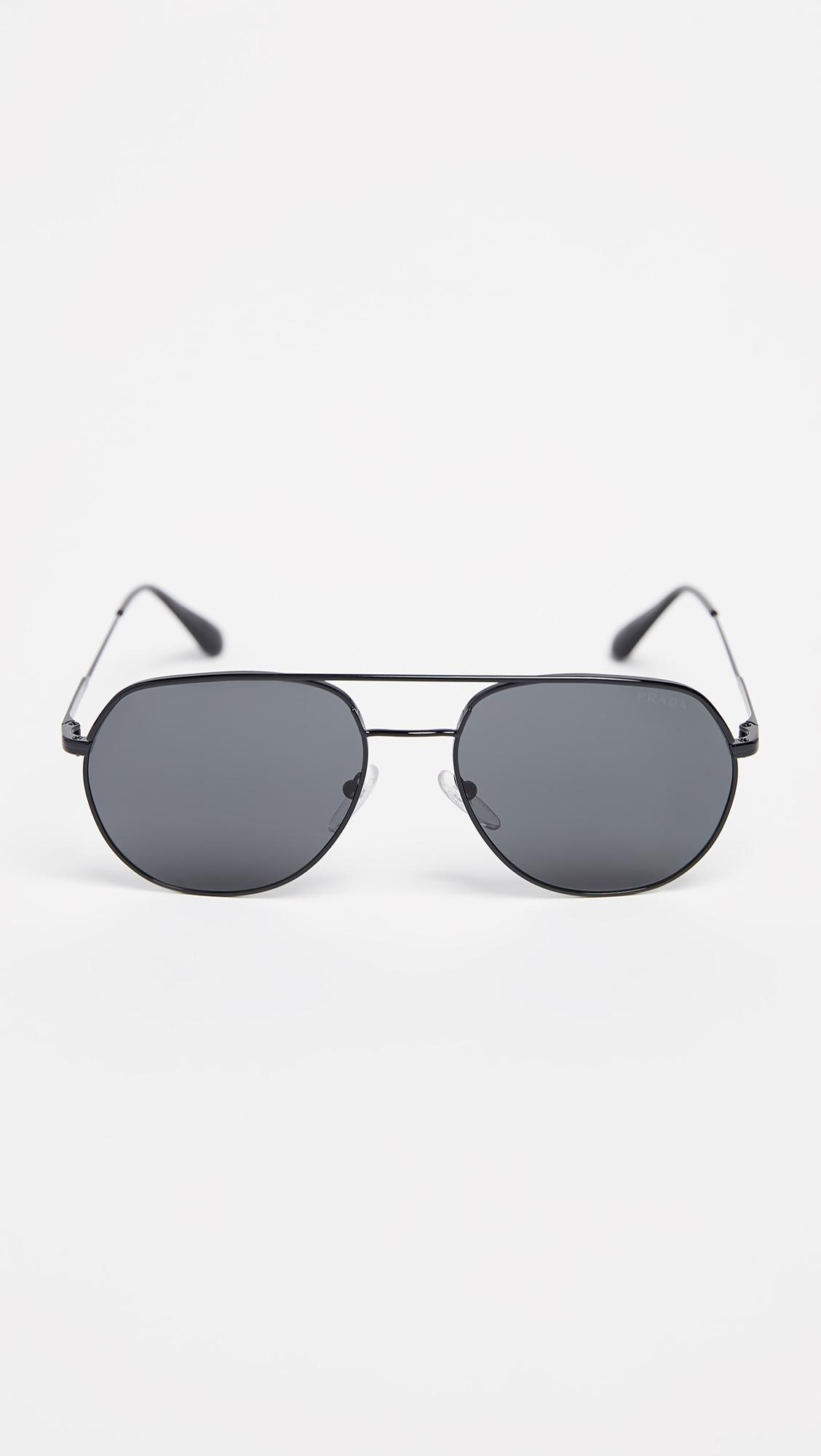b3d3530a8b3 Prada 0pr 55us Sunglasses in Gray for Men - Lyst