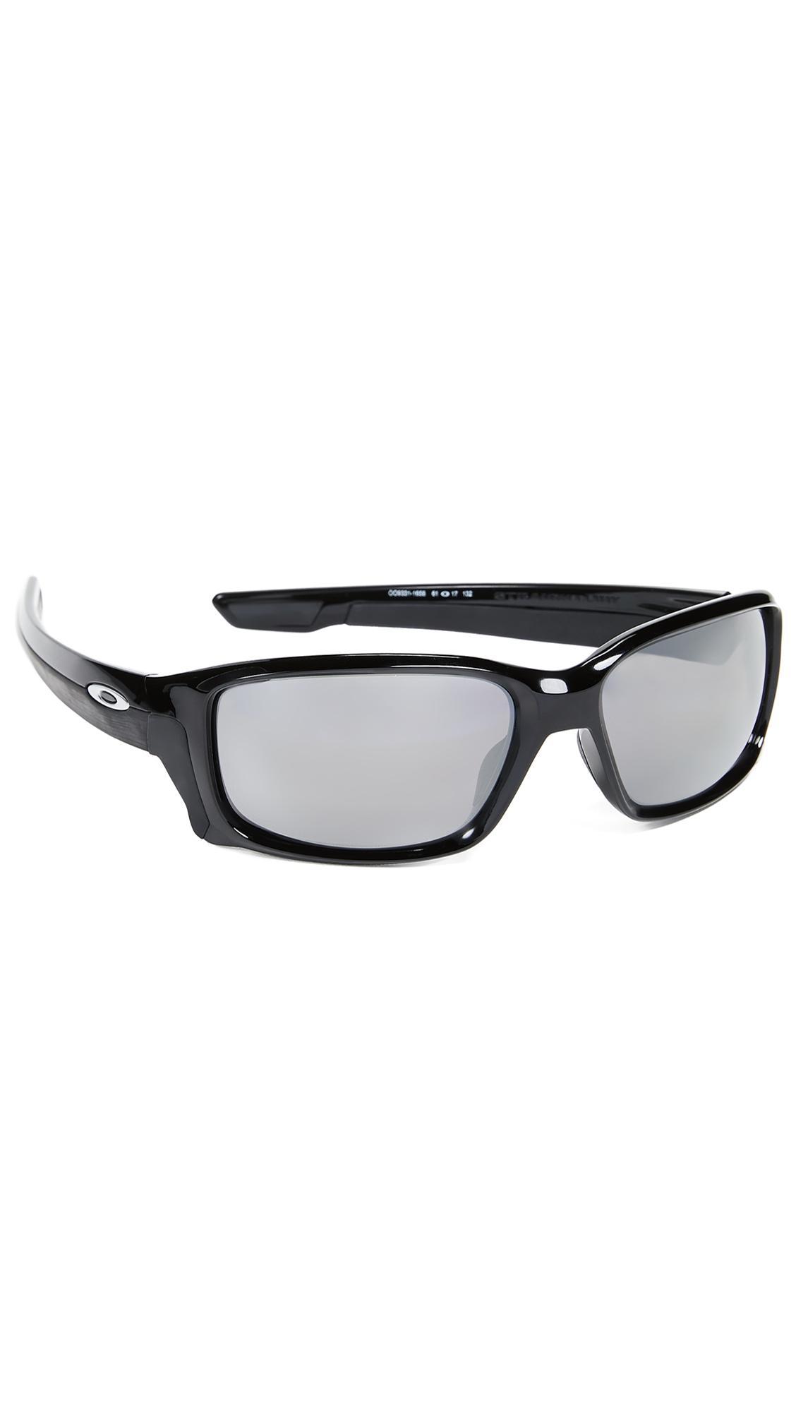 b475410383 Oakley Straightlink Prizm Polarized Sunglasses in Black for Men - Lyst