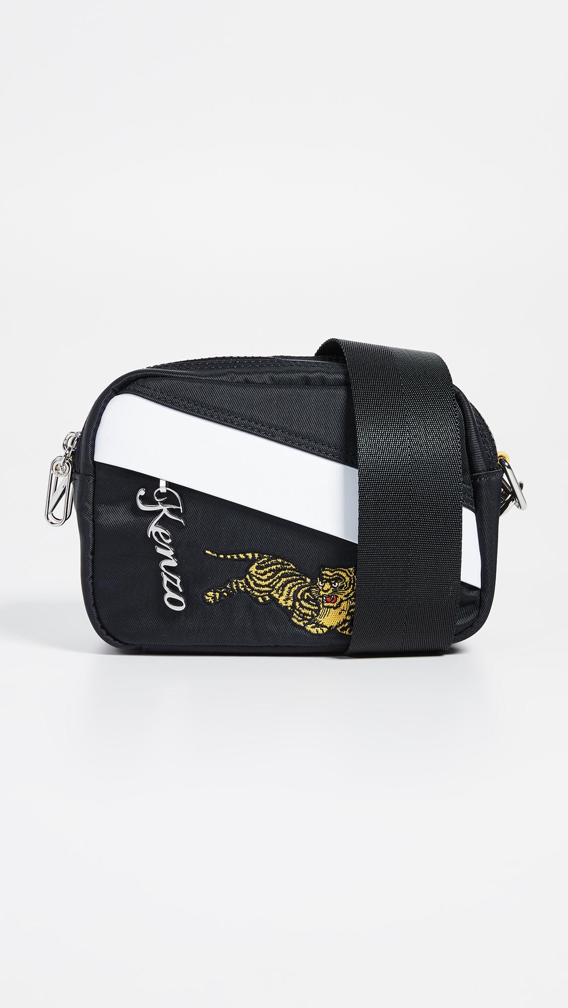 c6e5a15e6 KENZO Jumping Tiger Crossbody Bag in Black for Men - Lyst