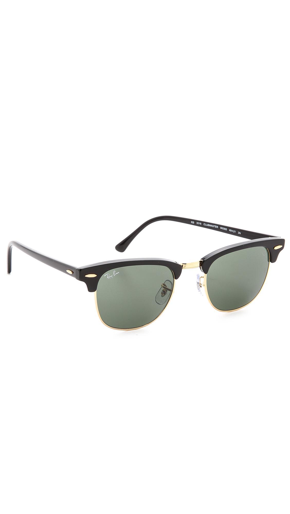 ... spain ray ban. mens black clubmaster classic sunglasses 2c29f 65e05  czech ray ban clubmaster rb3016 ... 758102f6fb