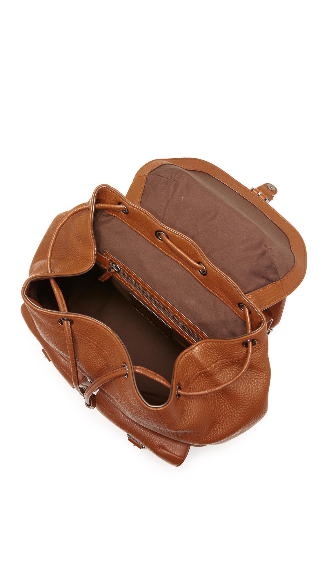1ee2ad93019f Lyst - Michael Kors Bryant Drawstring Backpack in Brown for Men