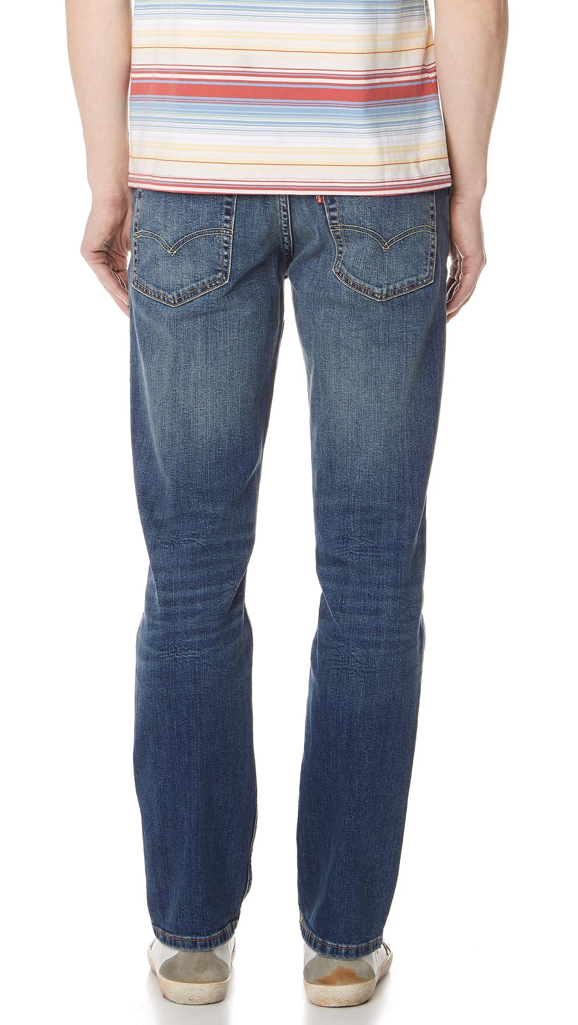 a290cfe9241 Levi'S Emgee 511 Slim Jeans in Blue for Men - Lyst