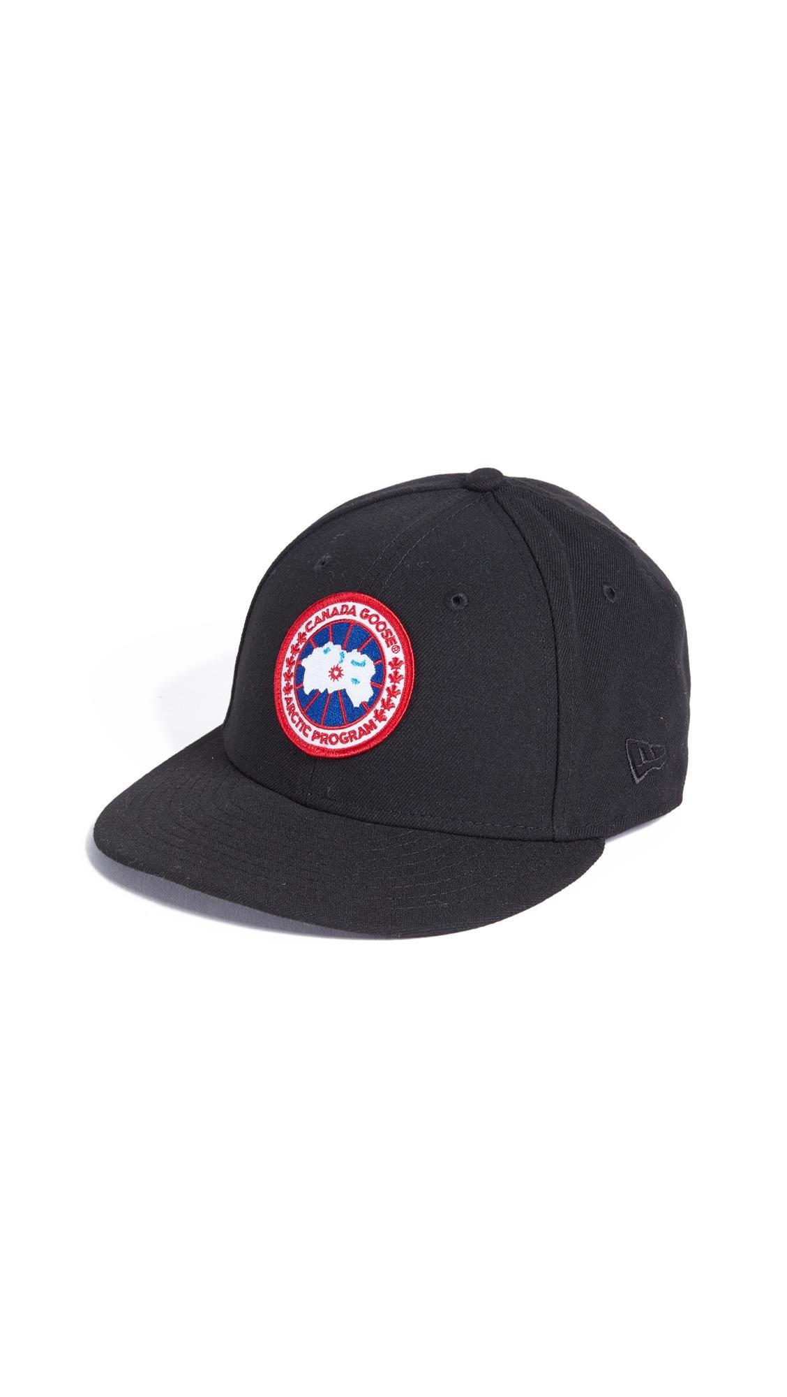 bdb4910b66d54 Canada Goose X New Era Cap in Black for Men - Lyst