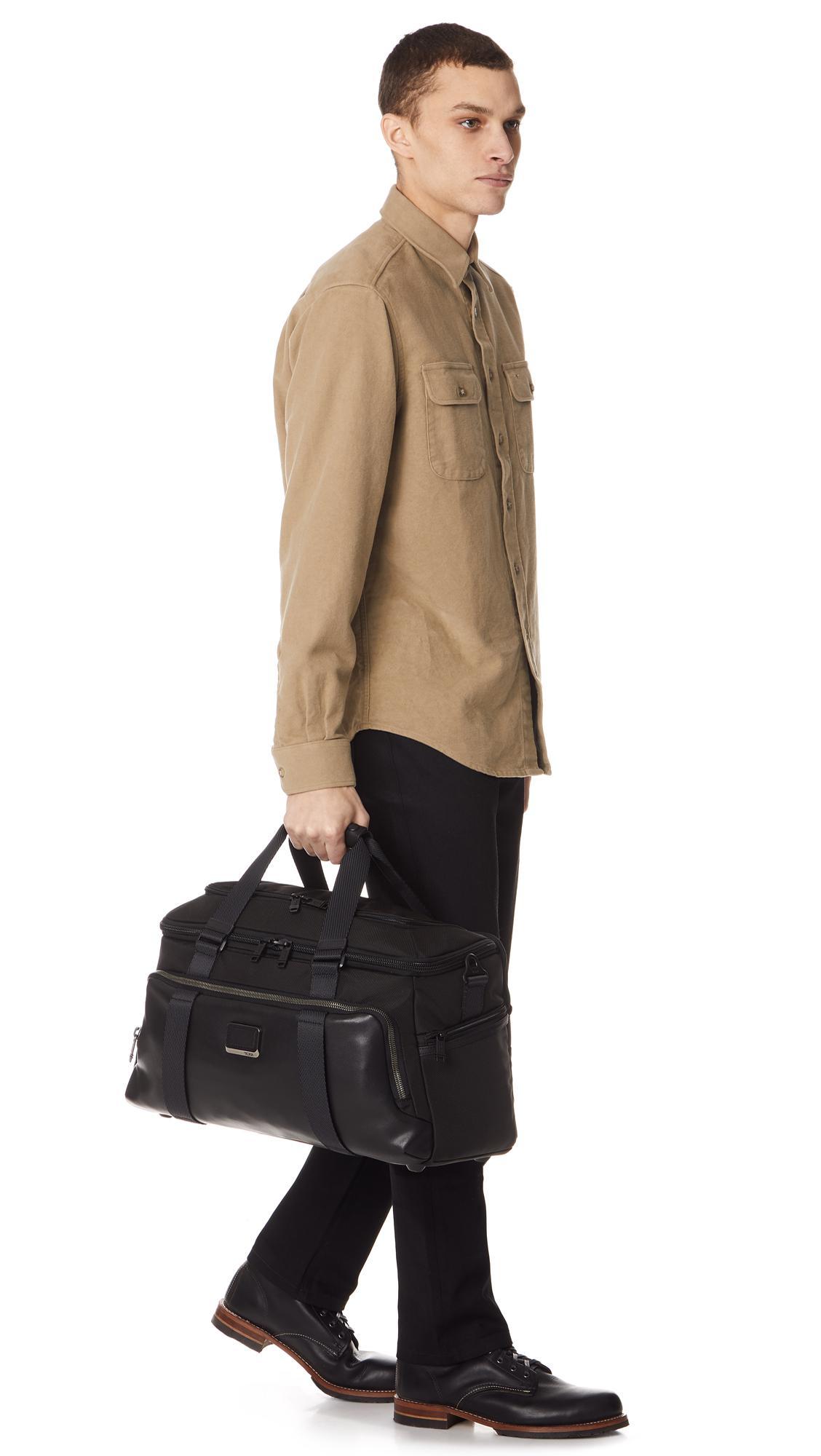 b626f171c9 Lyst - Tumi Mccoy Gym Bag in Black for Men
