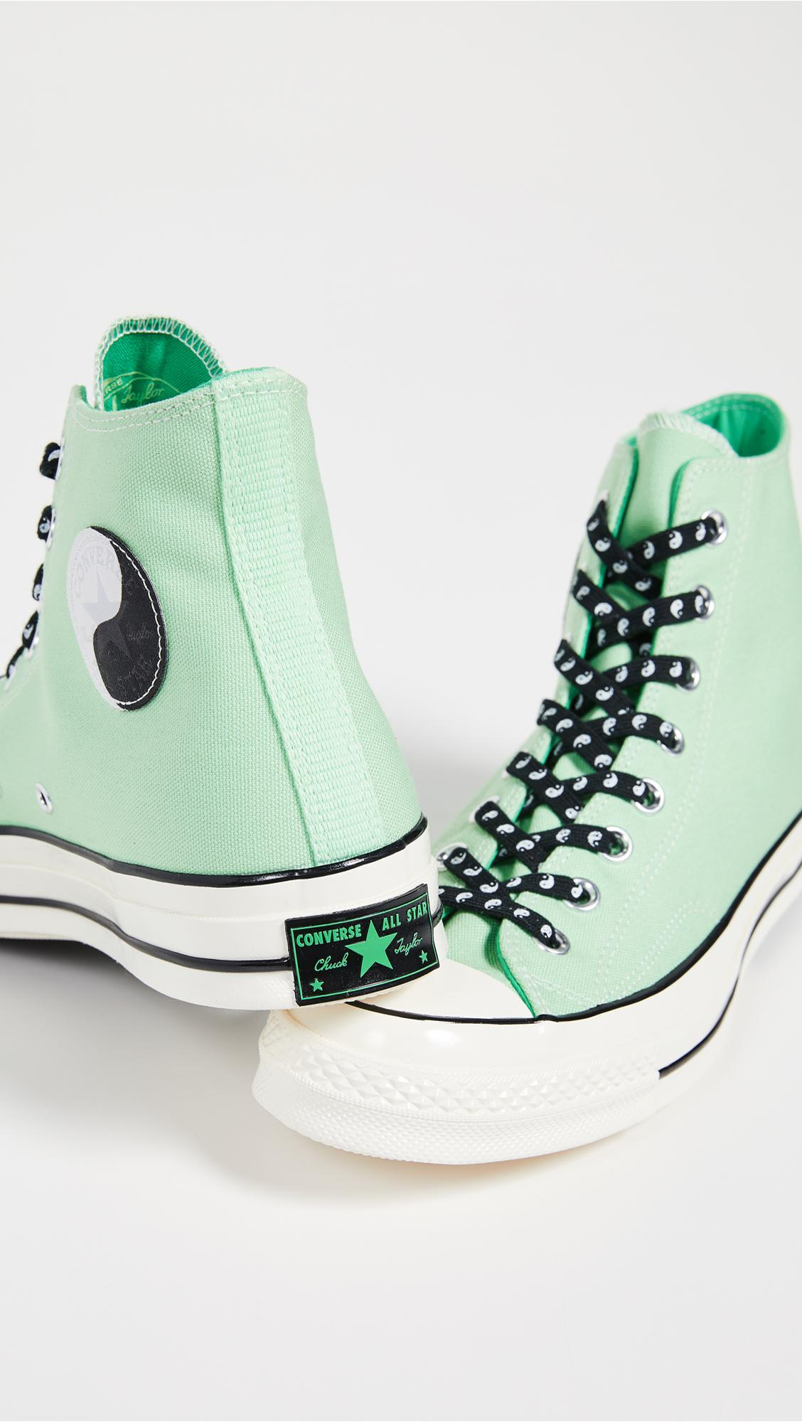 29976fb3d75 Converse Chuck 70 High Top Psy-kicks Sneakers in Green for Men - Lyst