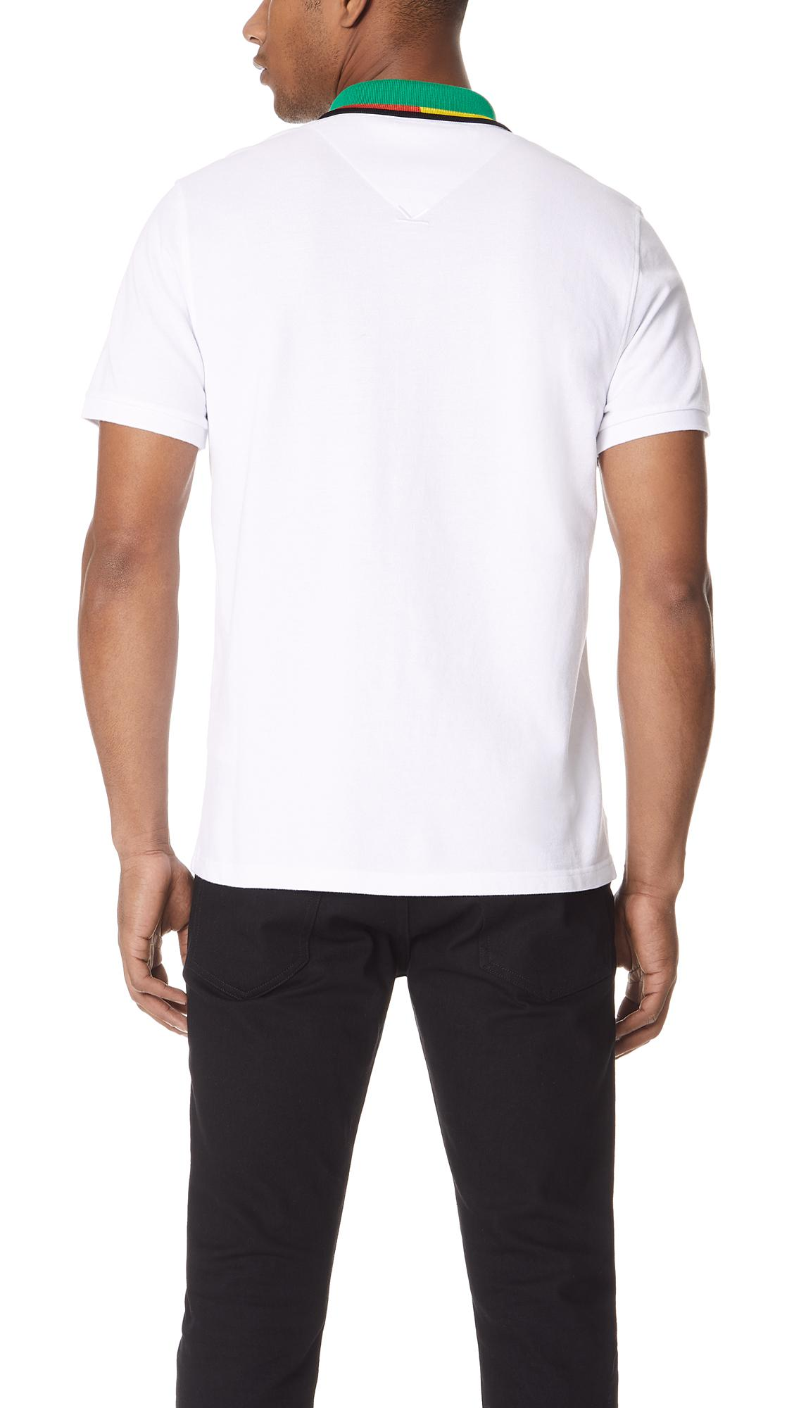 2aac2981 Lyst Kenzo Placket Embroidery Polo Shirt In White For Men