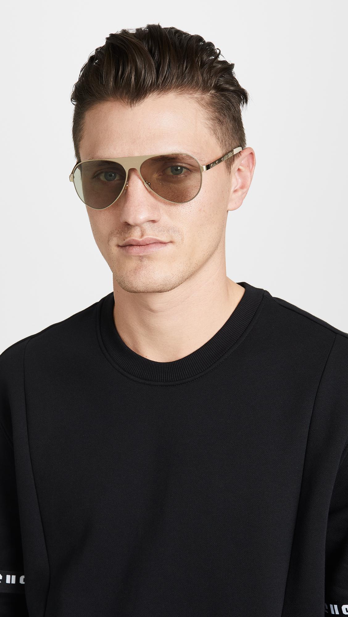 6acdd58792f Versace - Multicolor Medusina Pilot Sunglasses for Men - Lyst. View  fullscreen