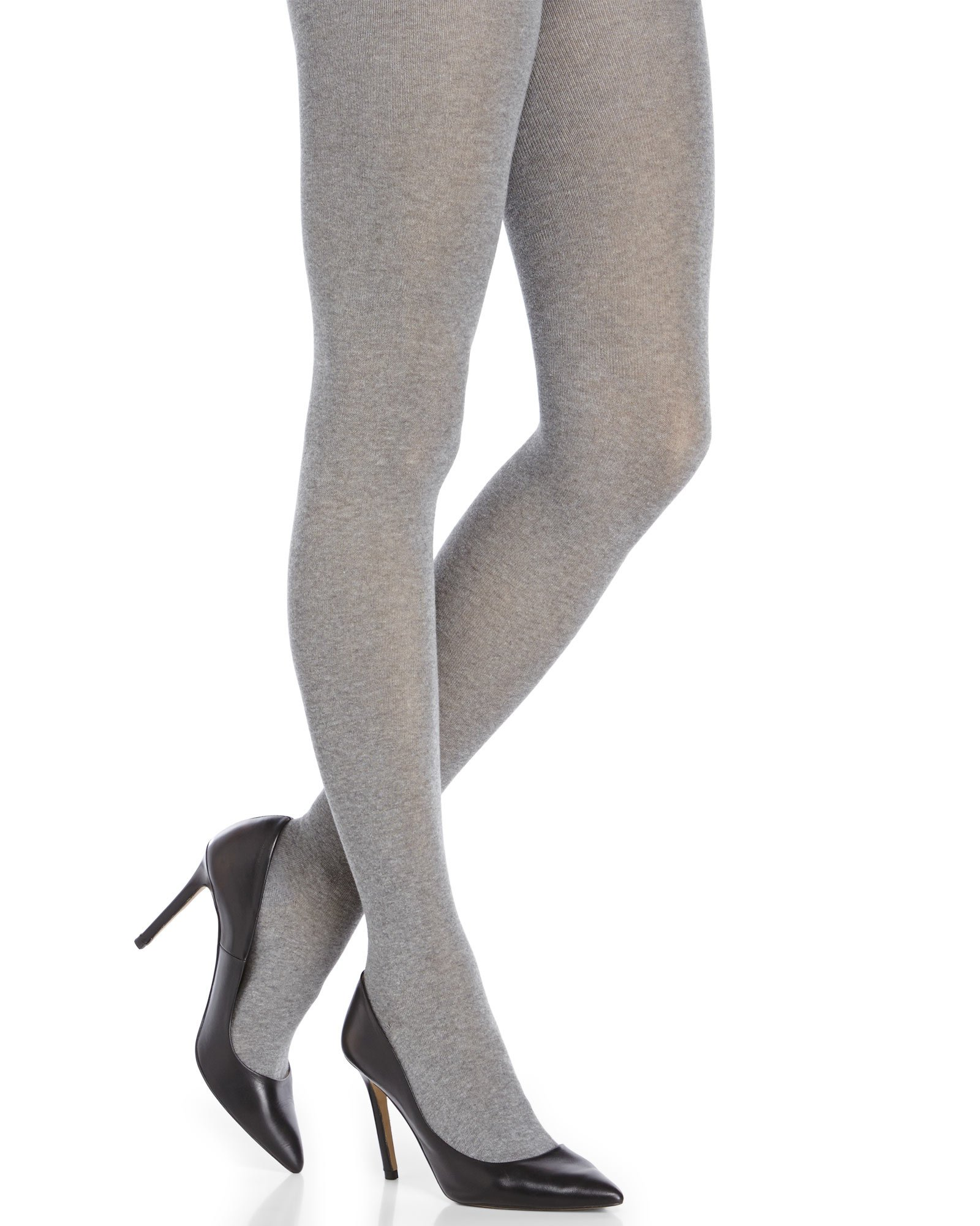 e12bd09e23108 Hue Flat Knit Sweater Tights in Gray - Lyst