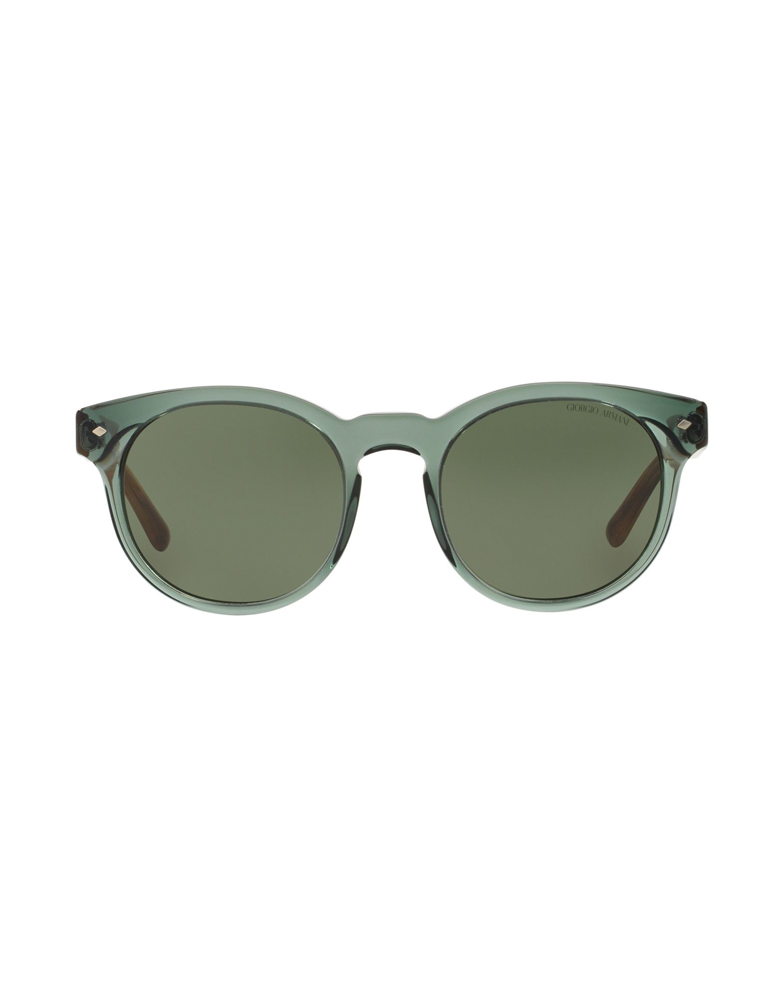 Giorgio armani Sunglasses in Green for Men | Lyst