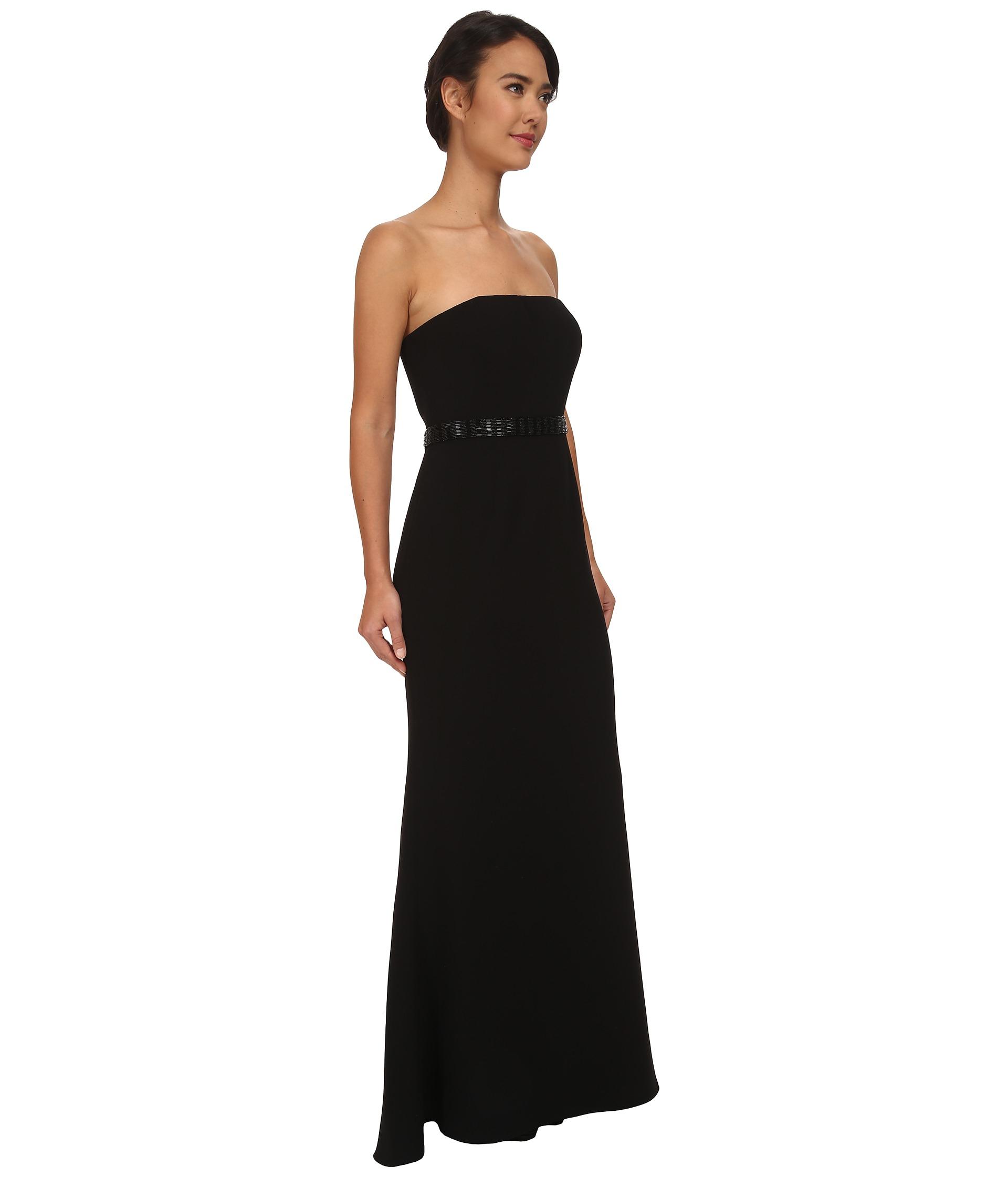 Lyst - Calvin Klein Strapless Gown Cd5b1933 in Black