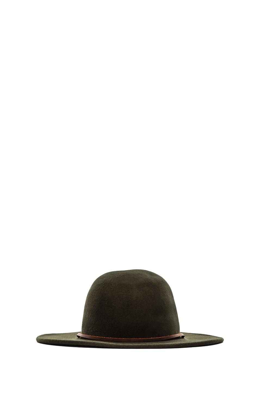 Lyst Brixton Tiller Hat In Green