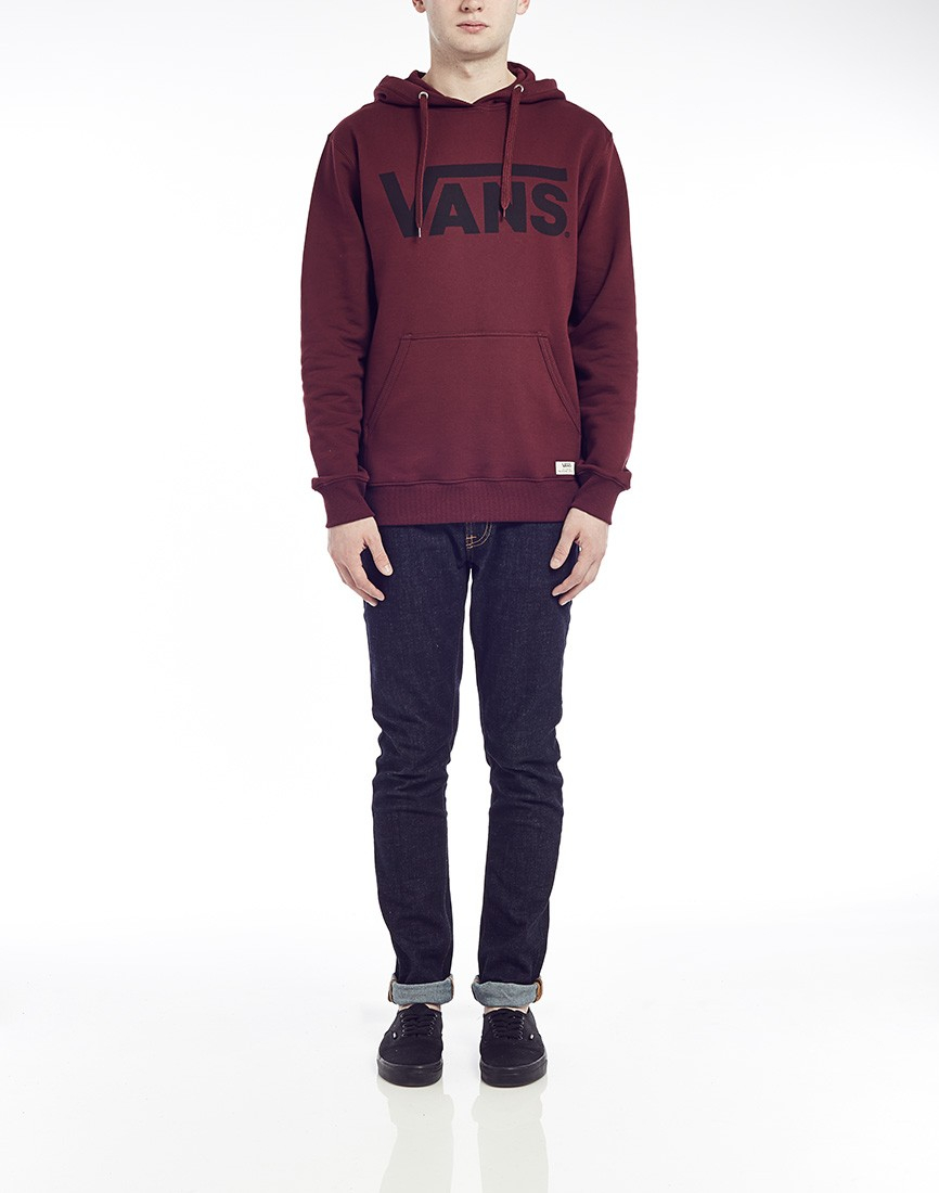 c68d64a708 Lyst - Vans Classic Pullover Hoodie In Wine in Red for Men