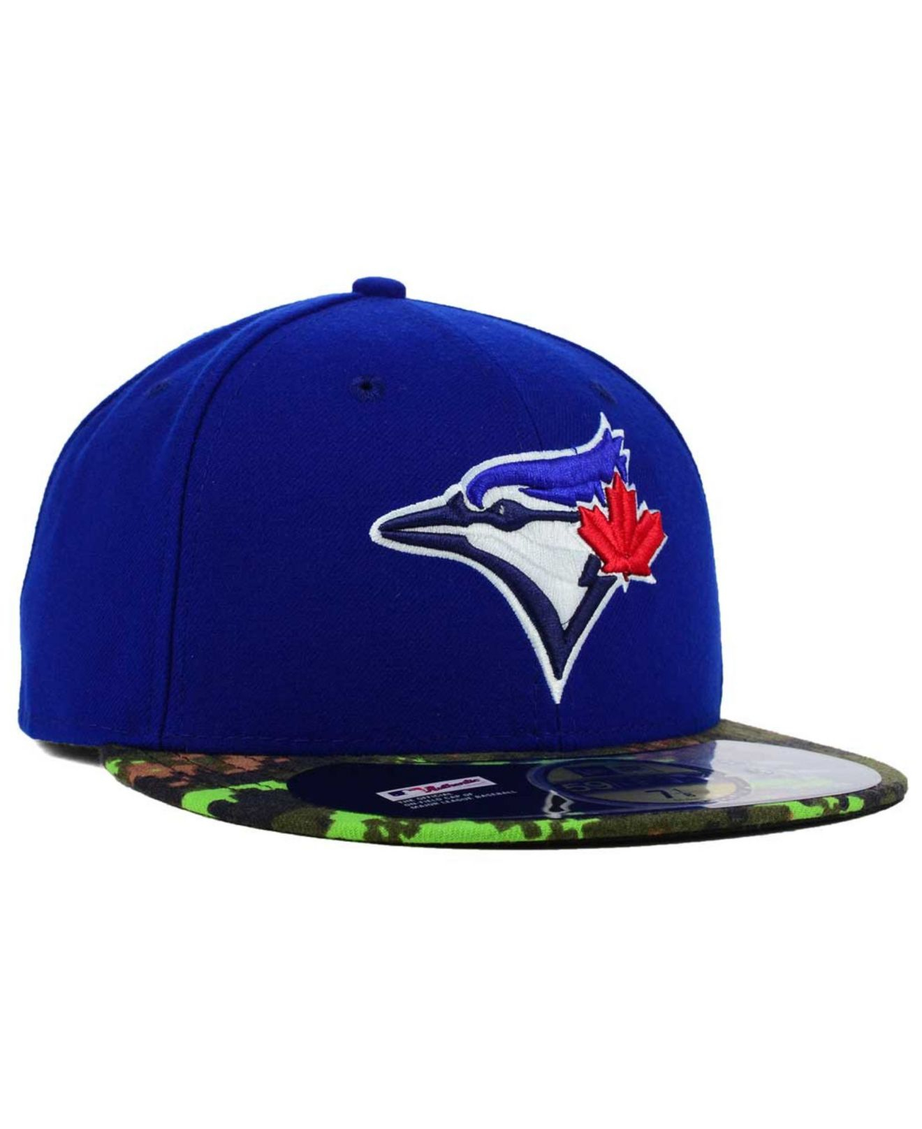 los angeles b1939 ddb4c KTZ Toronto Blue Jays Memorial Day Stars And Stripes 59fifty Cap in ...