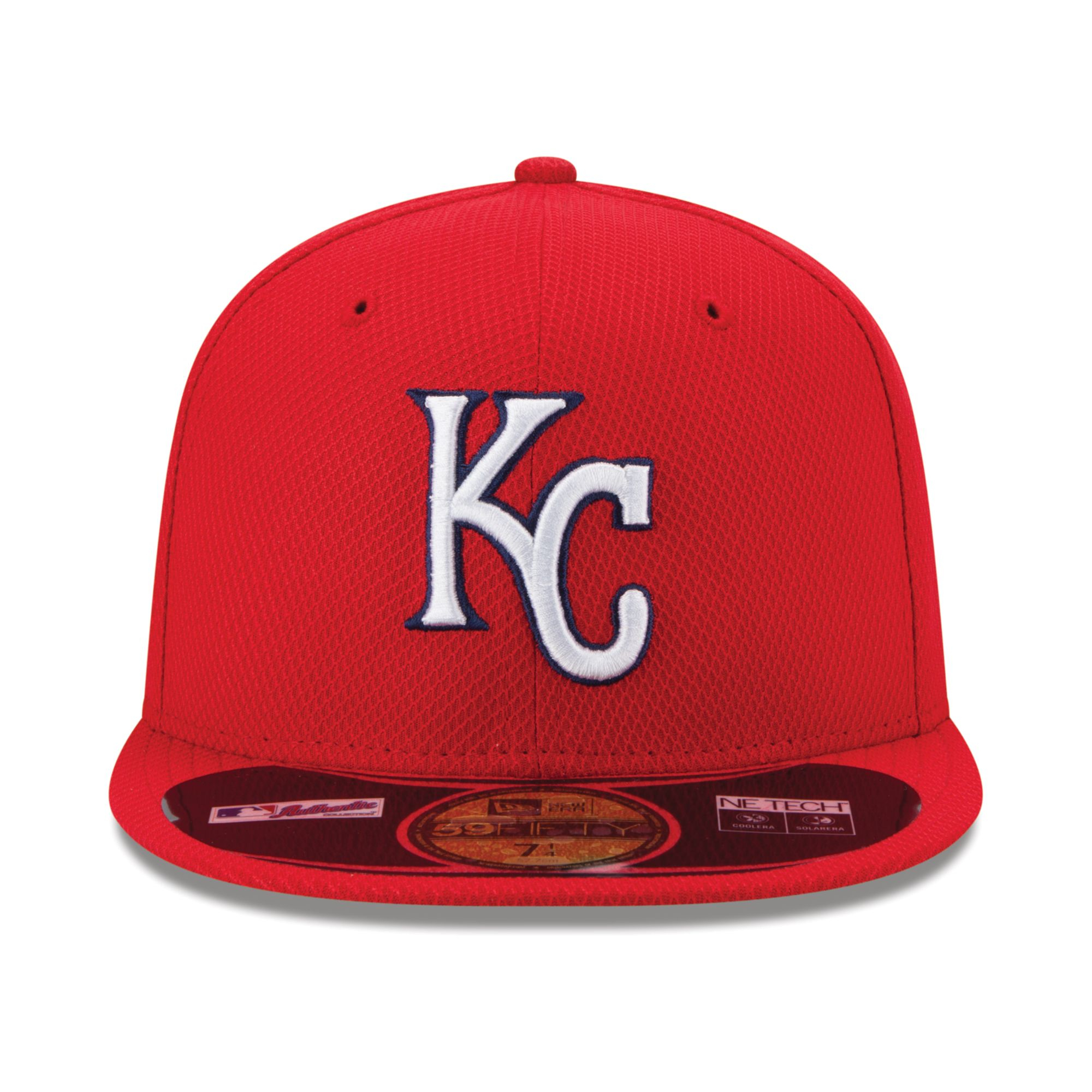 huge selection of 9b486 10337 ... discount code for lyst ktz kansas city royals home run derby 59fifty cap  in red for