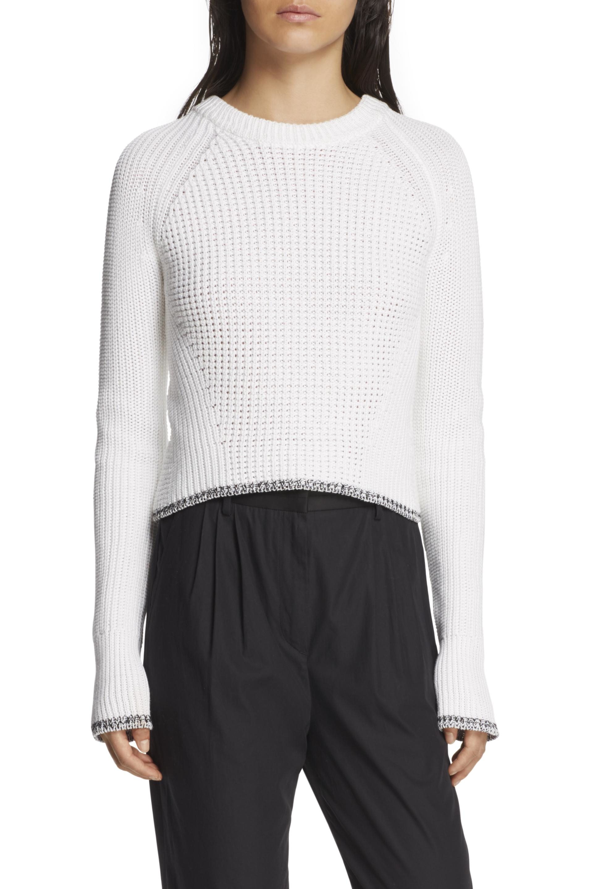 Rag & bone Beatrix Pullover in White | Lyst