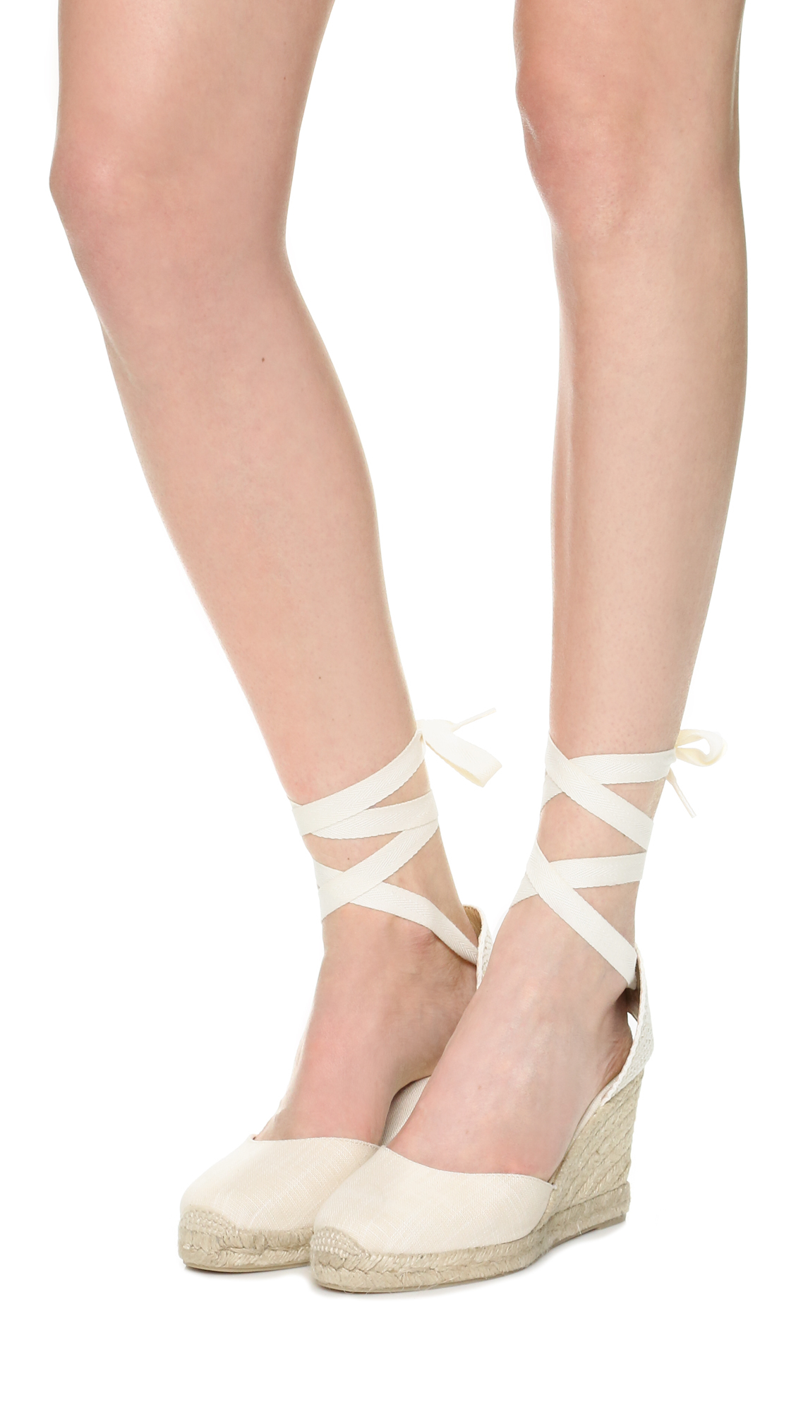 b58ef14343e Lyst - Soludos Tall Wedge Espadrilles in Natural