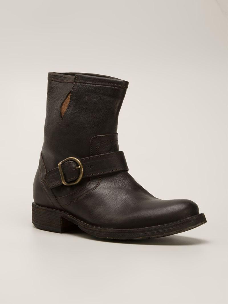 fiorentini baker 39 eli 39 boots in brown lyst. Black Bedroom Furniture Sets. Home Design Ideas