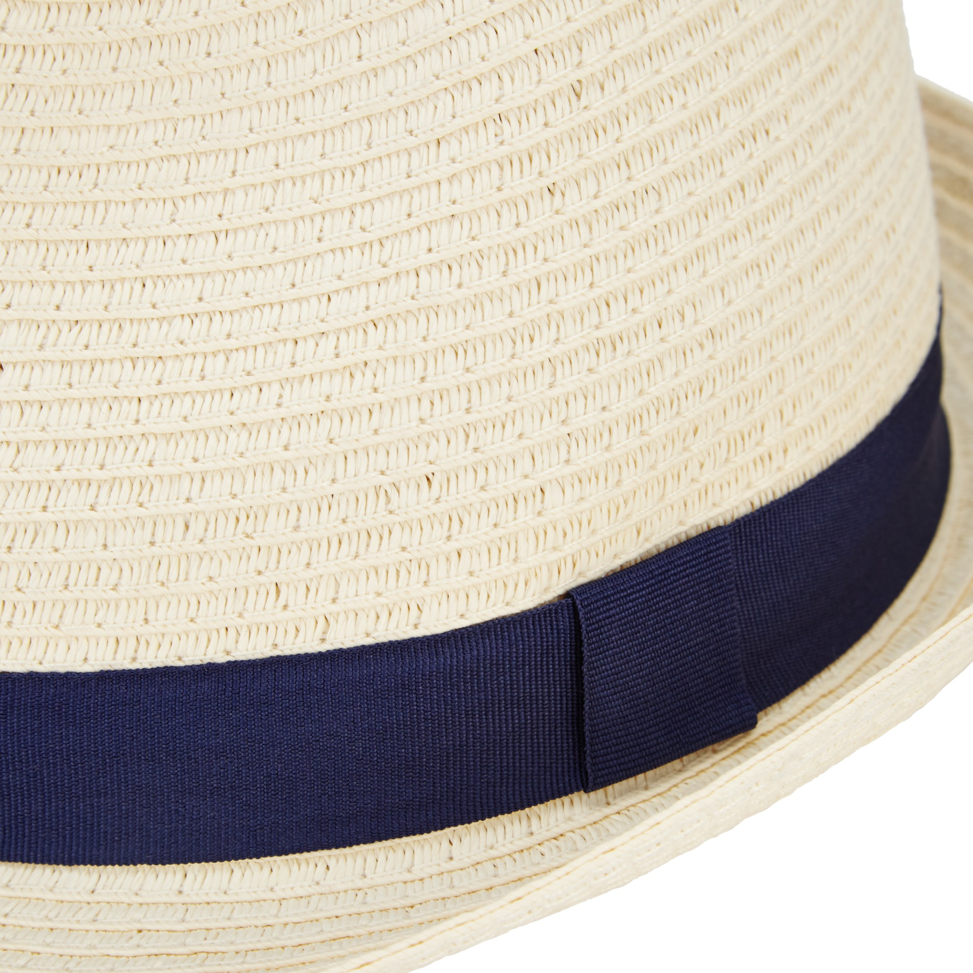 John Lewis Packable Braid Ribbon Trilby Hat in Blue for Men - Lyst 05a0755d8add