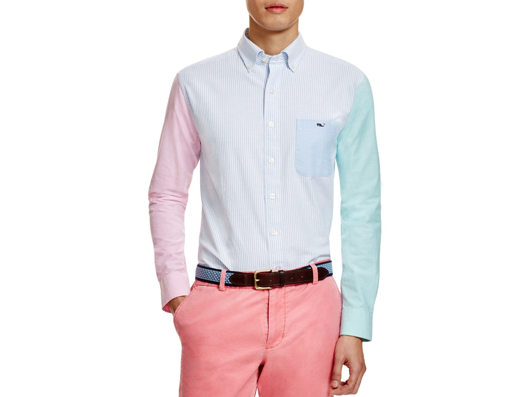 Vineyard vines Party Tucker Slim Fit Button Down Shirt for Men | Lyst
