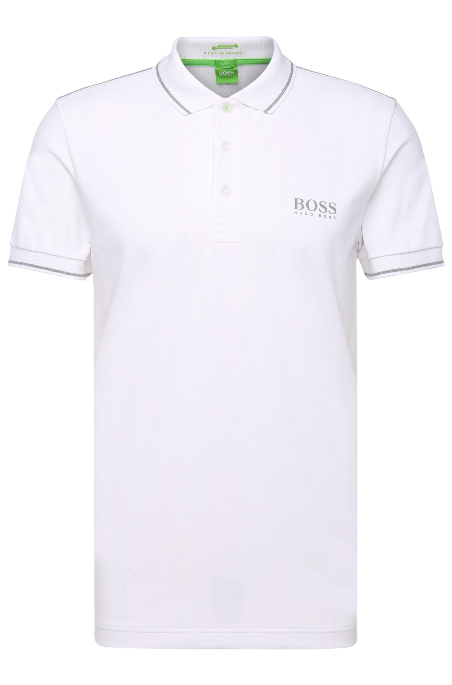 063a21160 BOSS Green 'paule Pro' | Slim Fit, Moisture Manager Cotton Polo ...