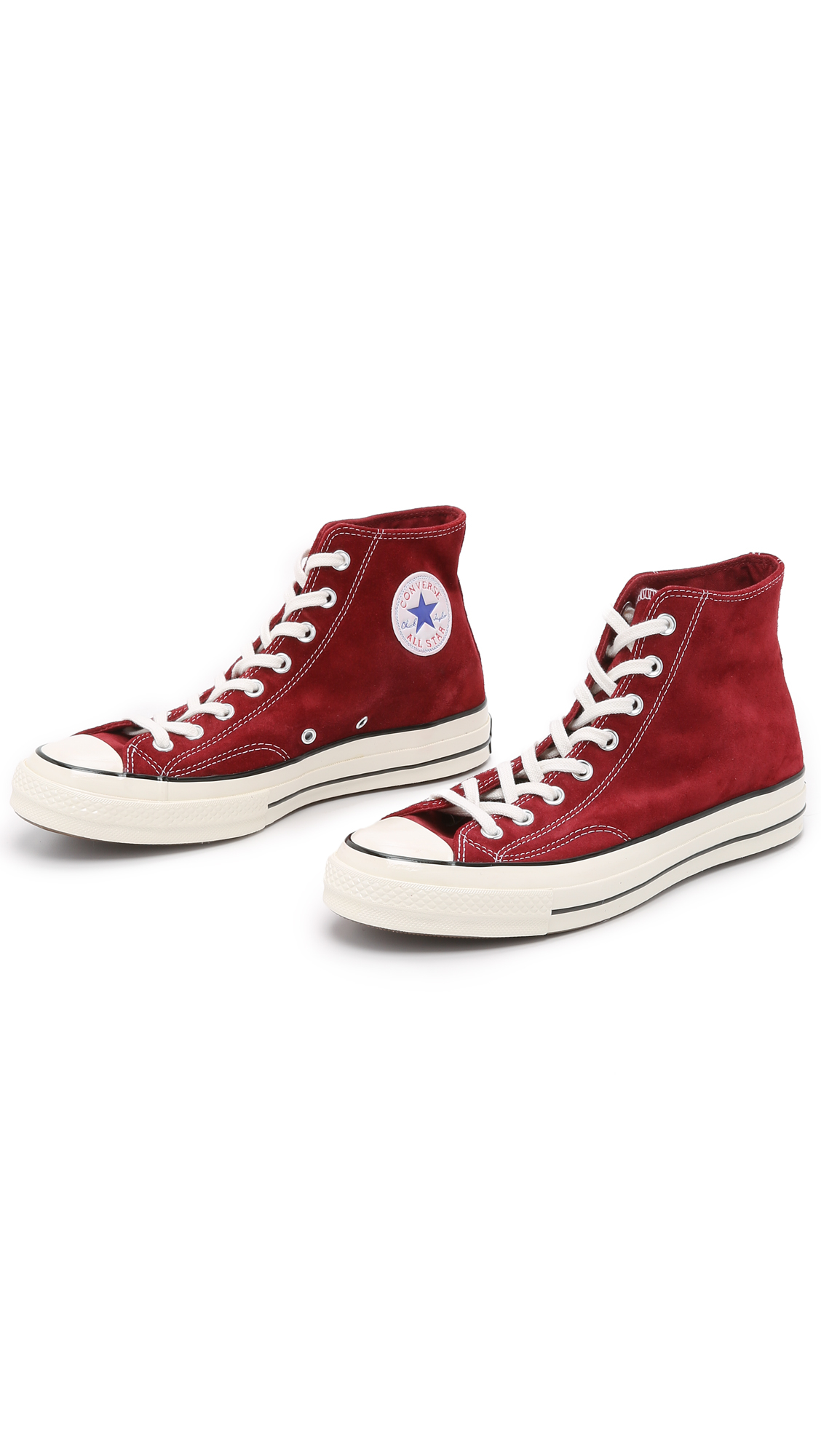89613c7adb61 Lyst - Converse Chuck Taylor All Star  70s Suede High Top Sneakers ...