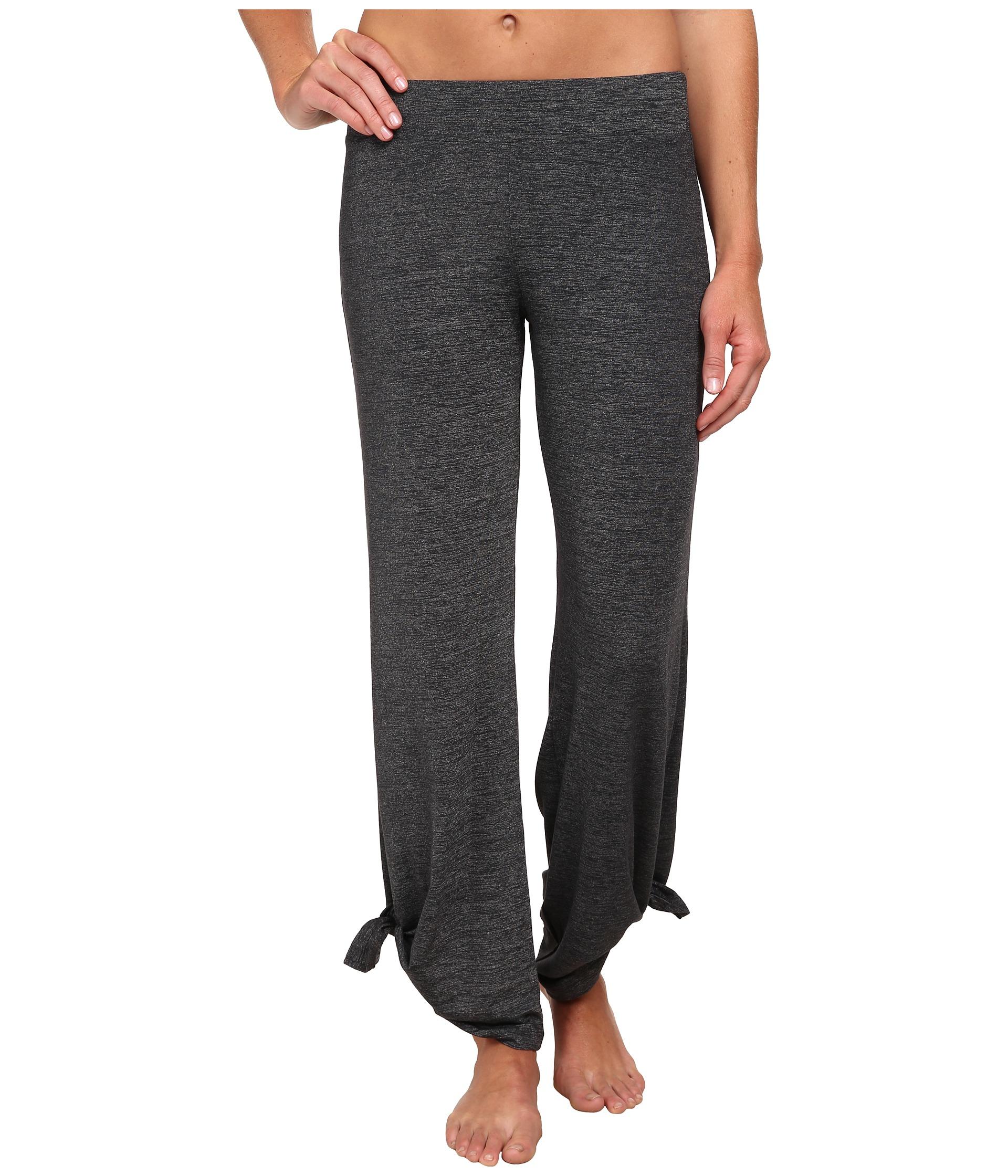 Beyond Yoga Ankle-tie Pants In Gray