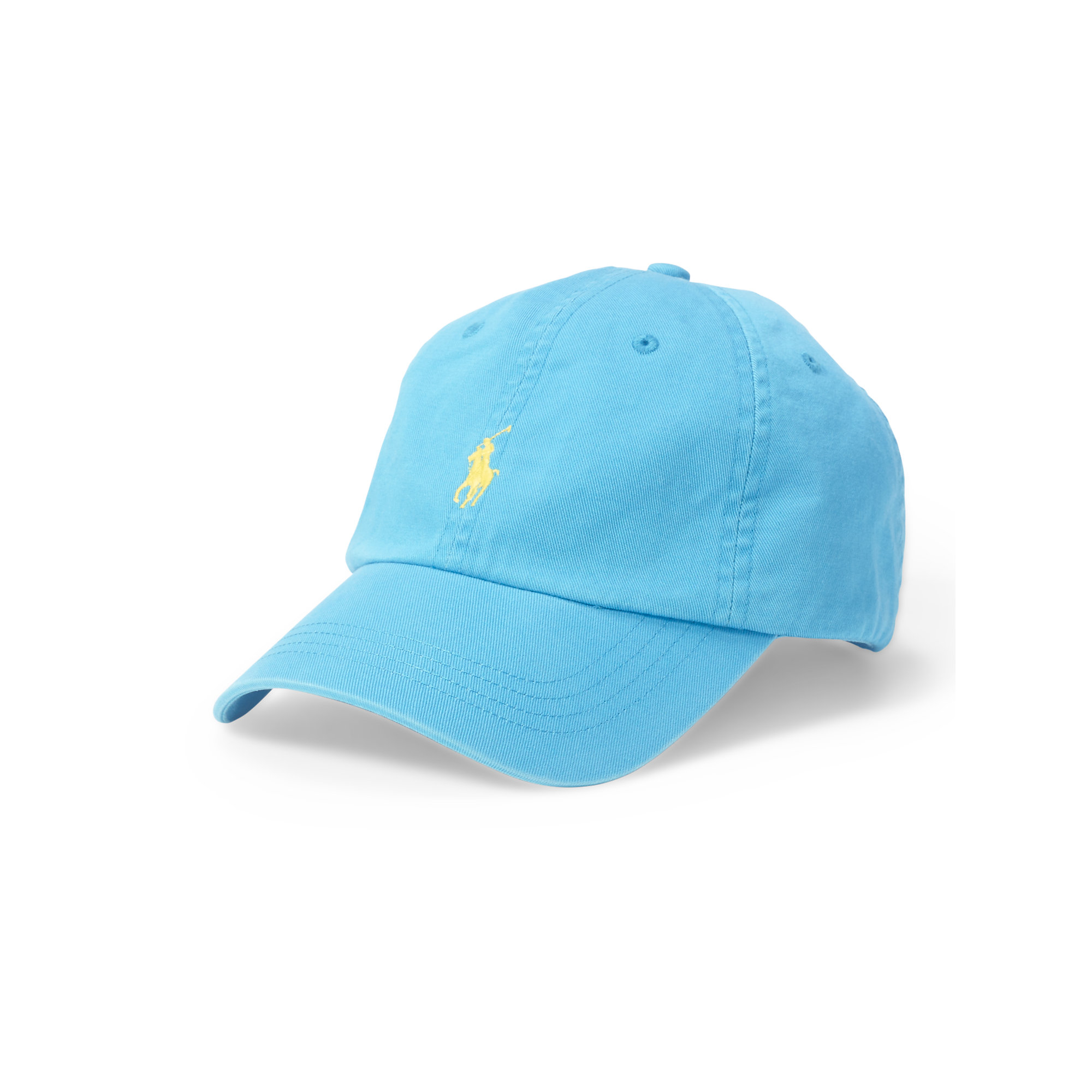 Lyst Polo Ralph Lauren Cotton Chino Baseball Cap In Blue For Men 1ae1afce8afb