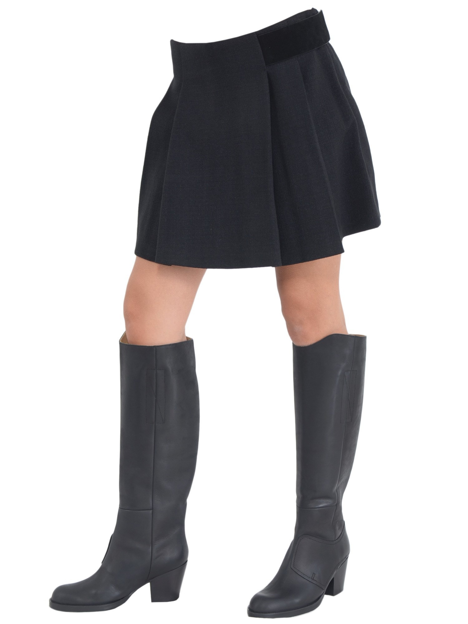 proenza schouler pleated skirt in black nero lyst