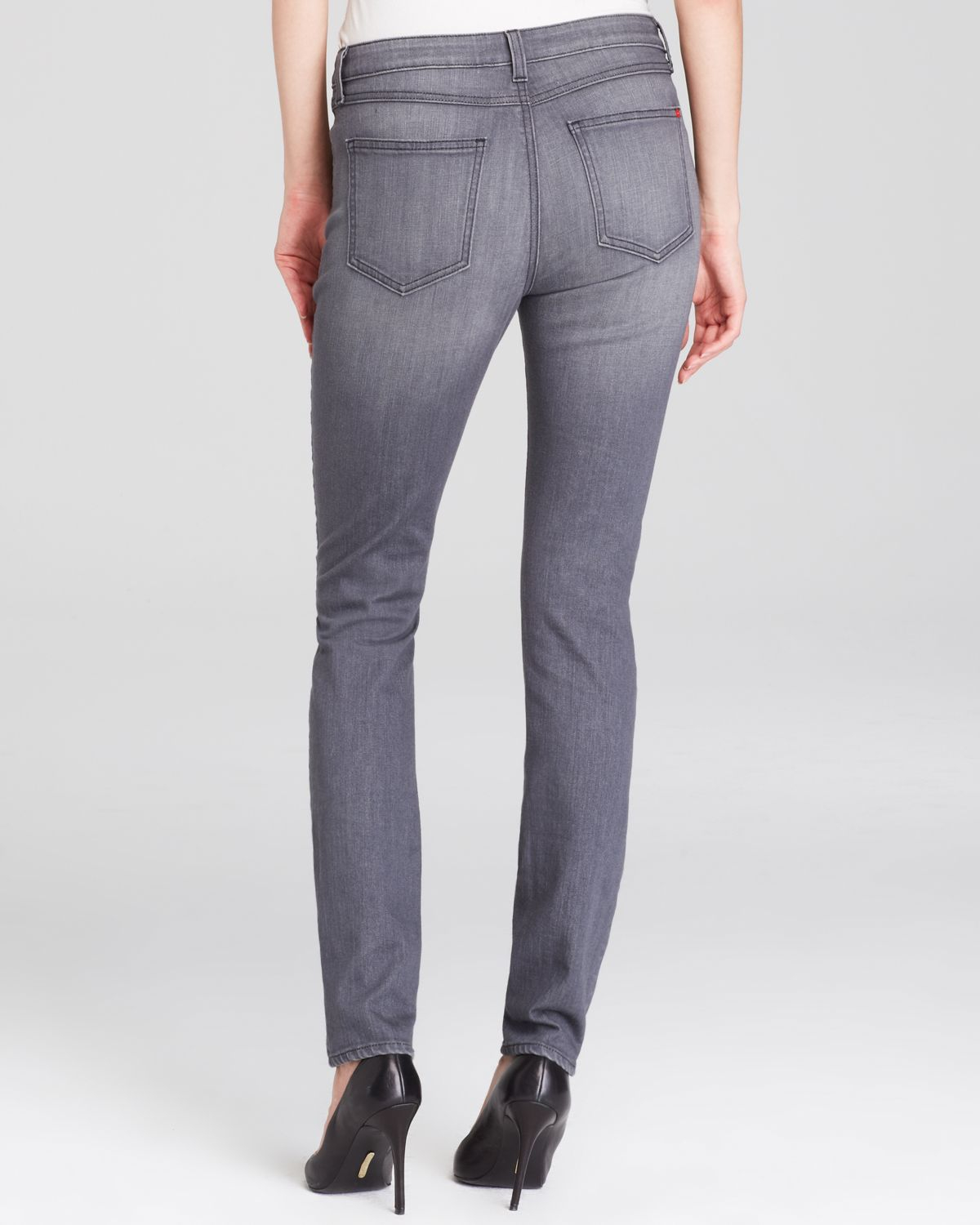 Spanx Spanx® Denim Classic Skinny Jeans In Grey in Gray