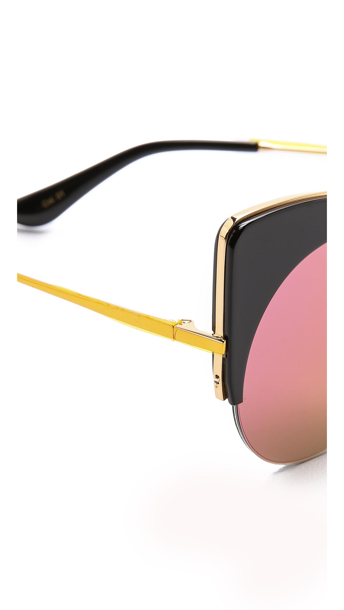 ffdef737991d Gentle Monster Alley Cat Sunglasses - Black pink in Black - Lyst