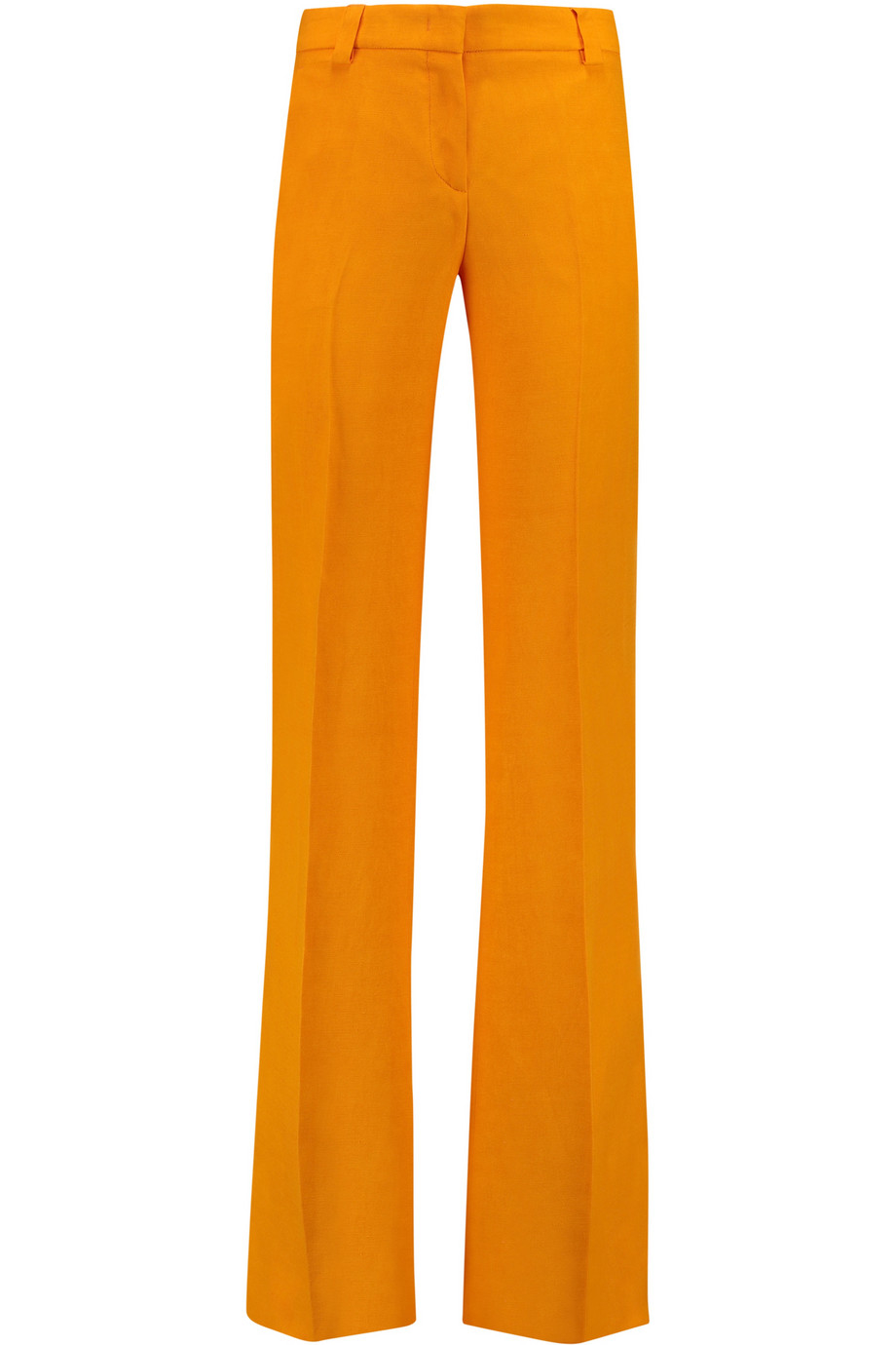 Innovative Womens Orange Basic Skinny Cotton Pants TrousersKorean Fashion Store