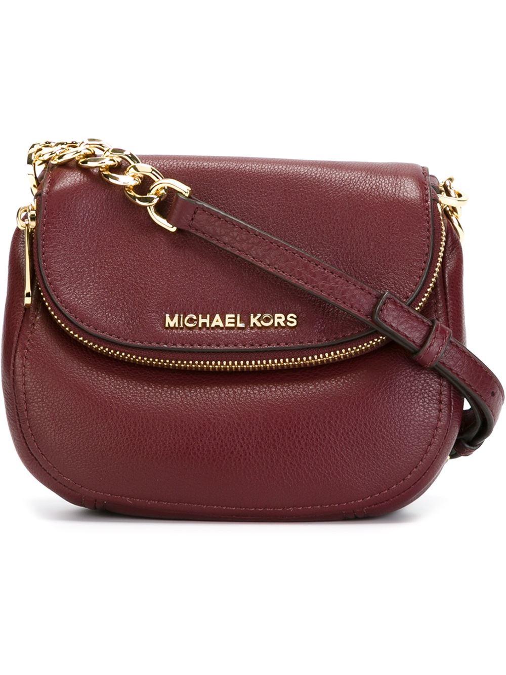 911c0e8c393a MICHAEL Michael Kors Zipped Fold Over Top Cross Body Bag in Purple ...