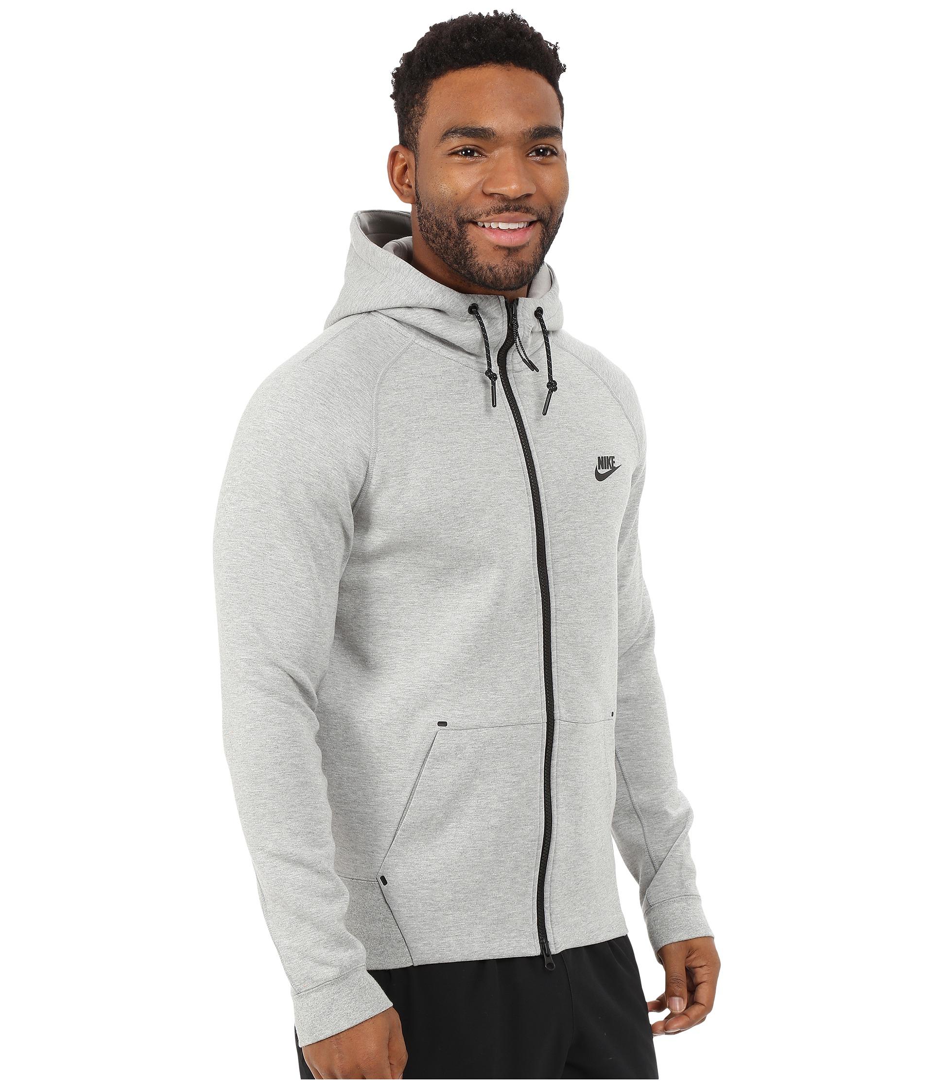 389c0e90d2b Lyst - Nike Tech Fleece Aw77 1.0 Full-zip Hoodie in Gray for Men