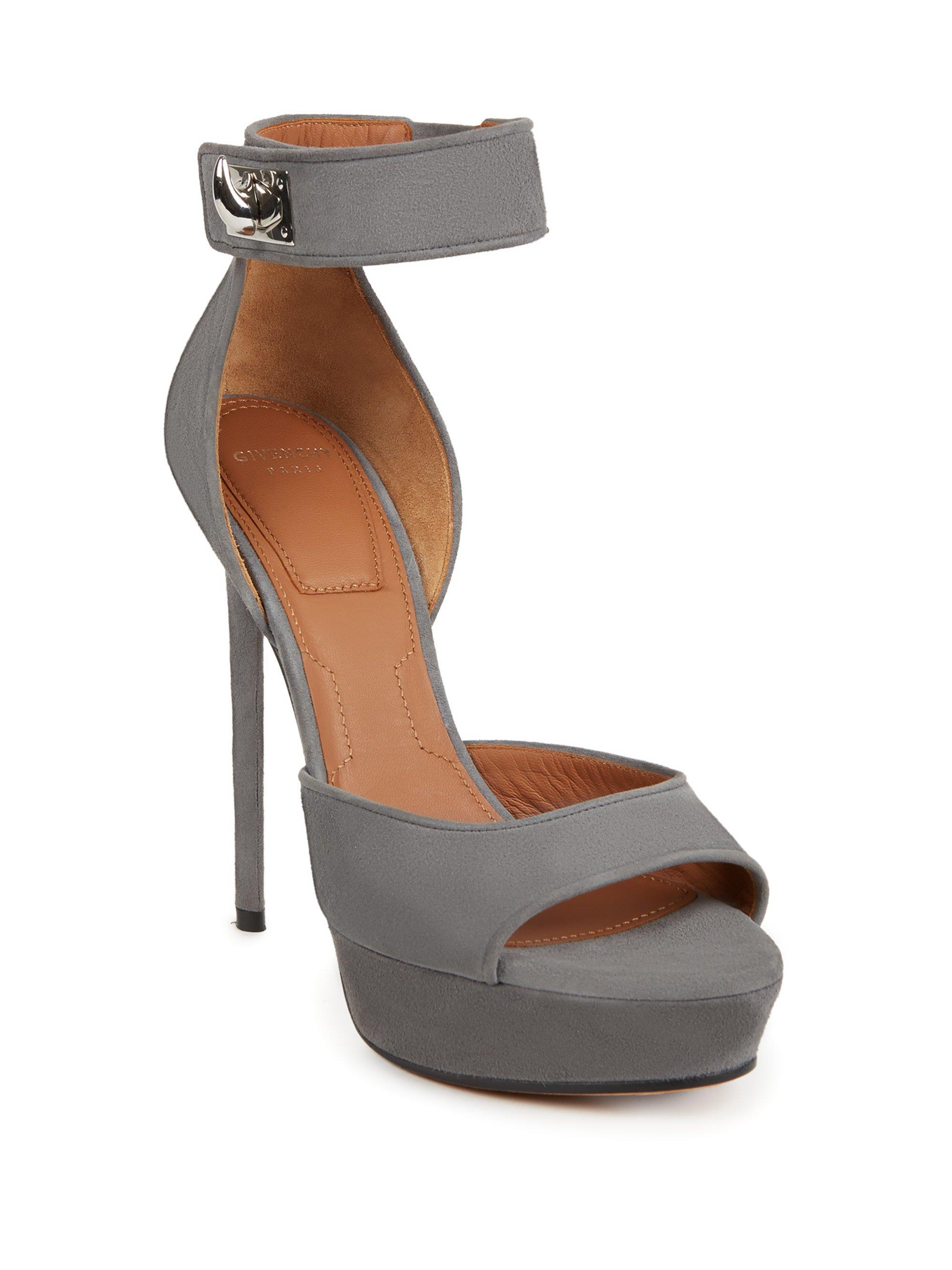 Shark leather plateau sandals Givenchy 0DcuKXv