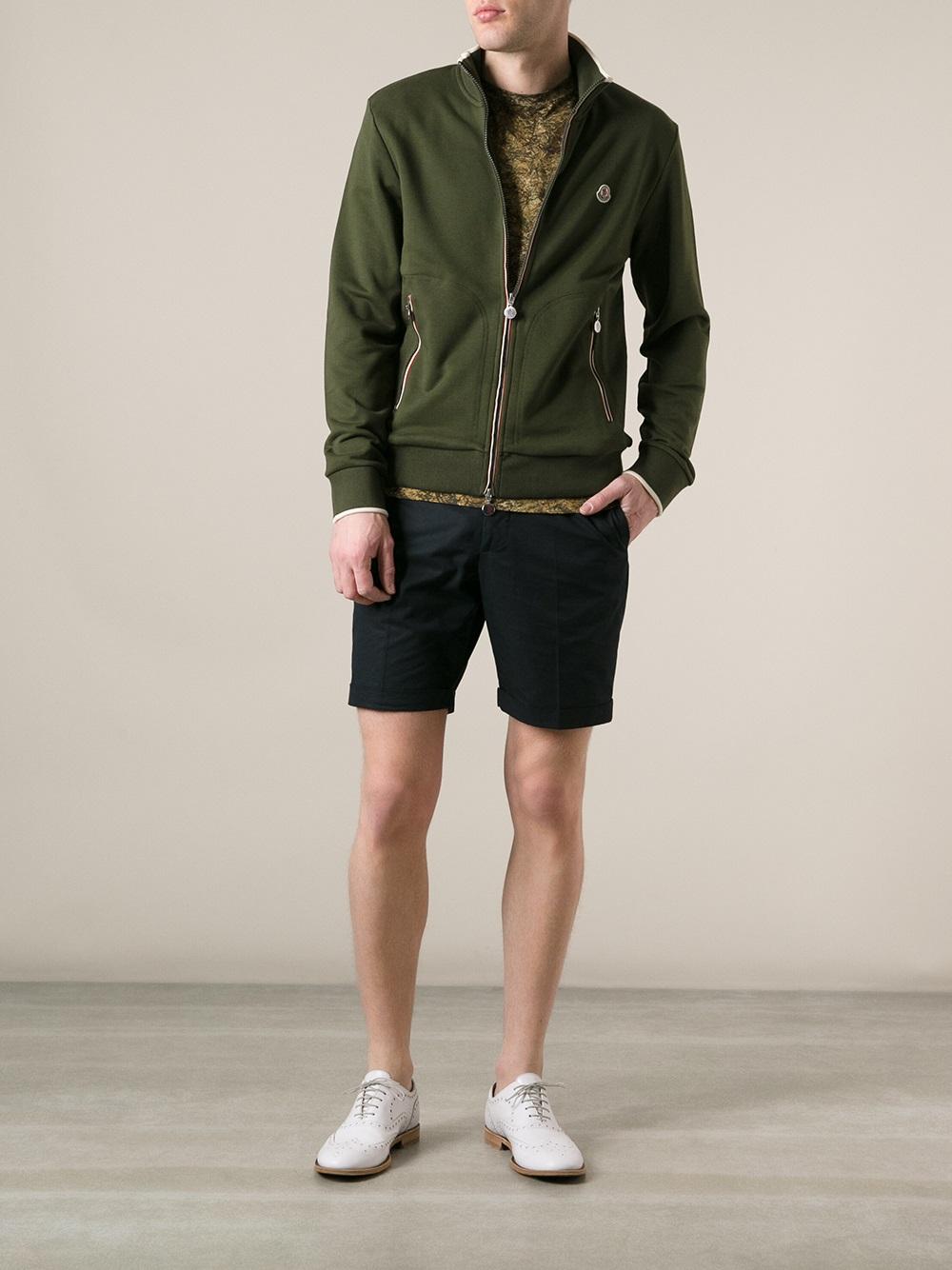 moncler green sweatshirt
