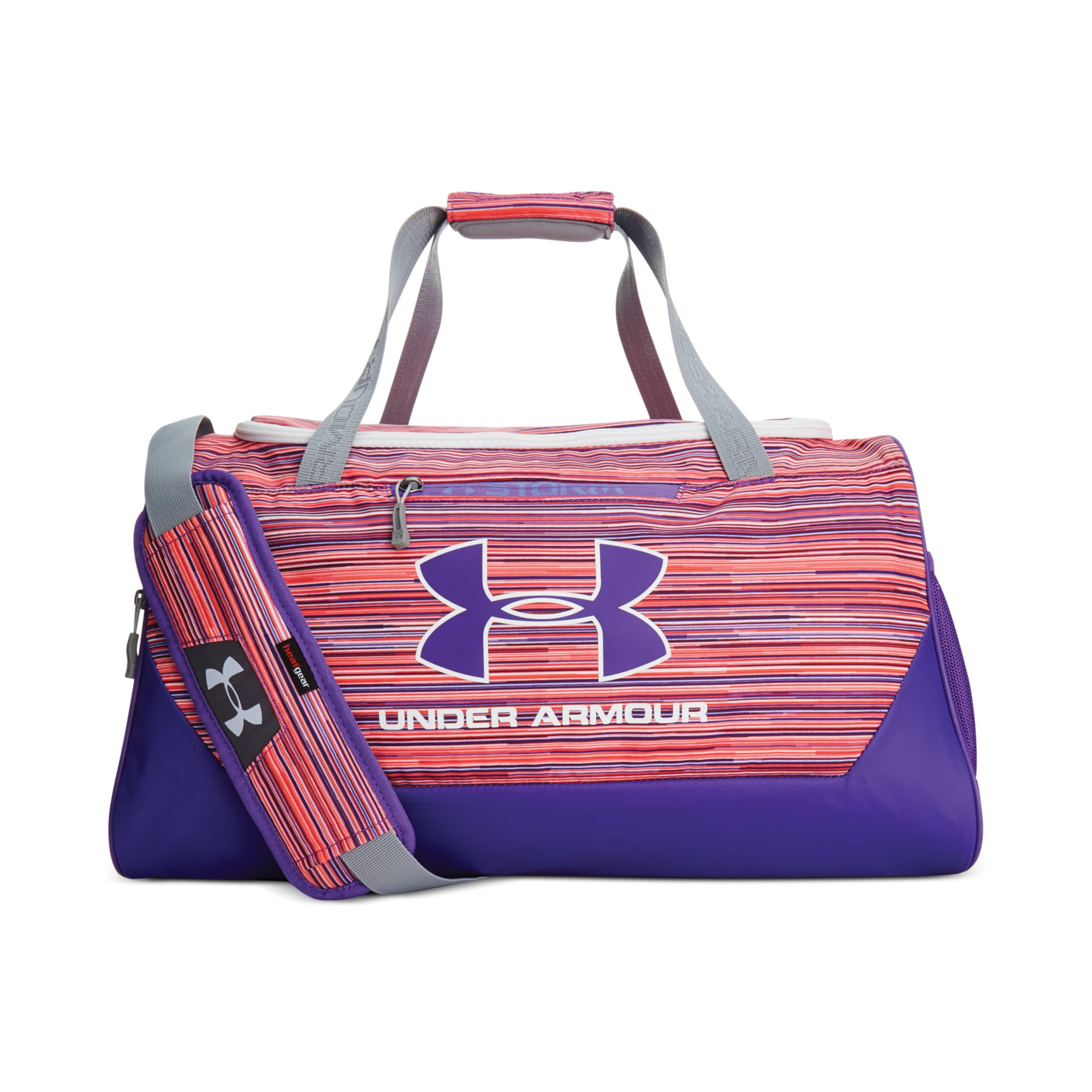 0102eec2398 Under Armour Hustle Small Duffle Bag in Purple for Men - Lyst