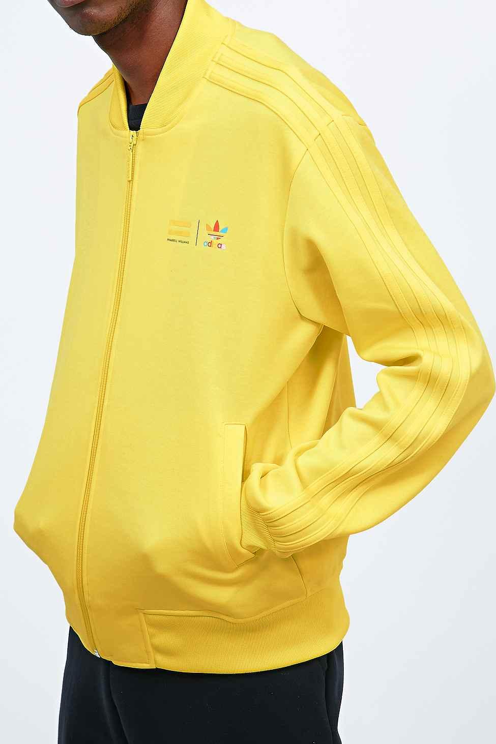 Adidas X Pharrell Supercolor Traccia Giacca Gialla In Giallo Per