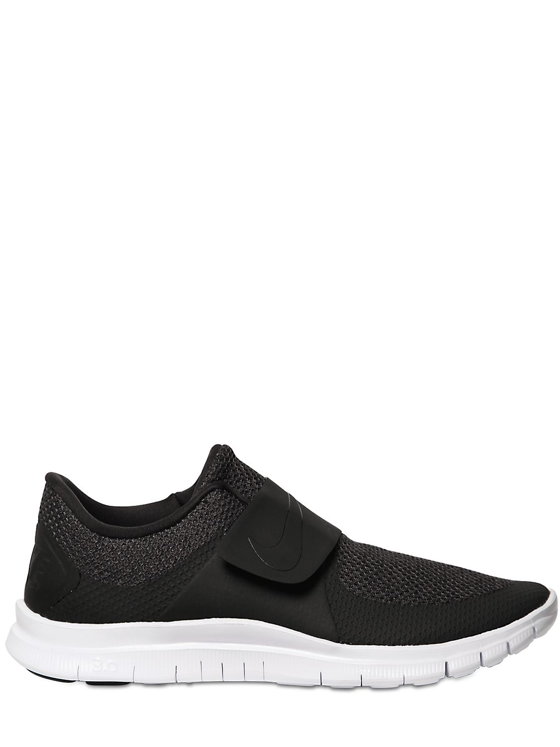 finest selection 9c366 2c53d mens nike free socfly running shoes black