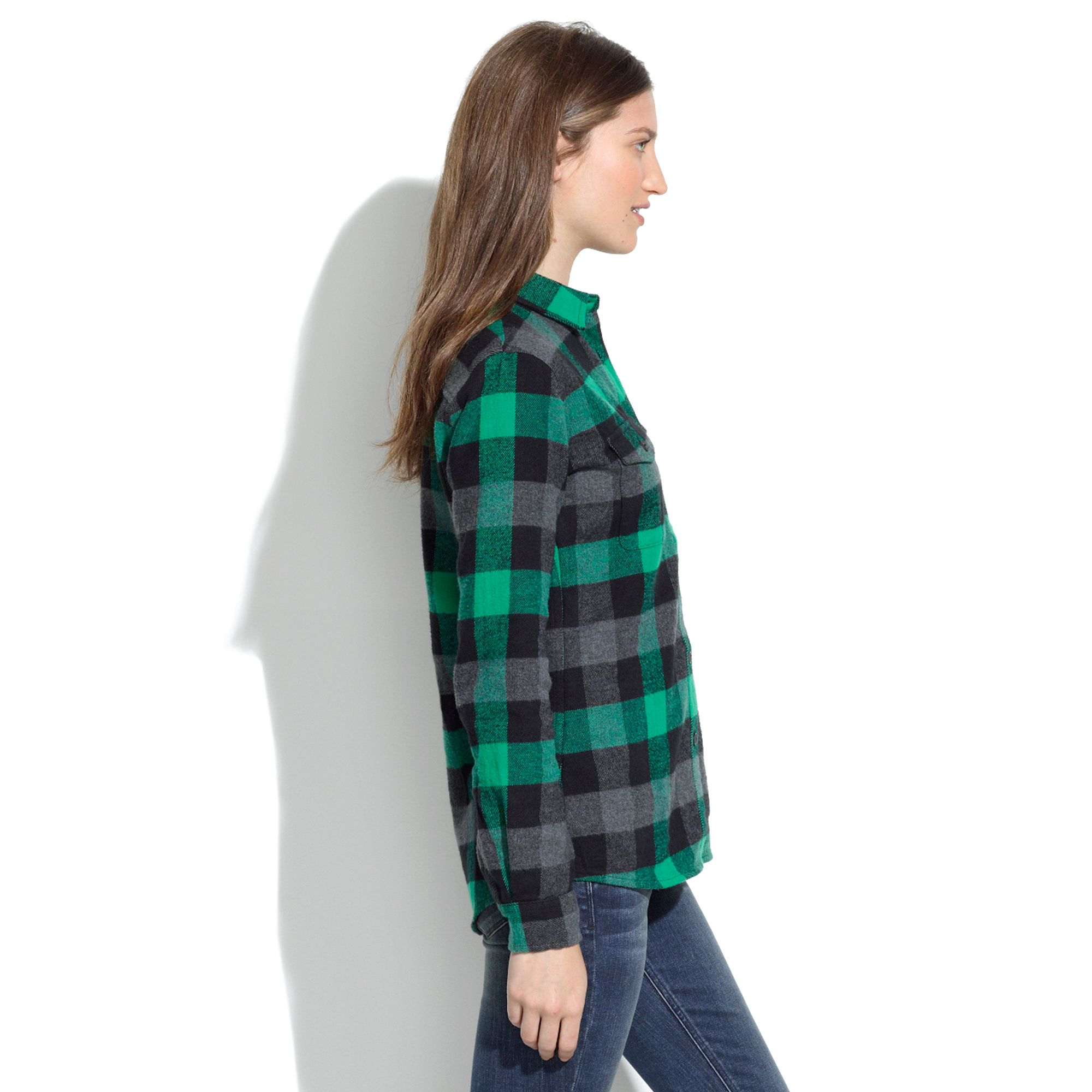 Lyst Madewell Penfield Amp Chatham Buffalo Plaid Flannel