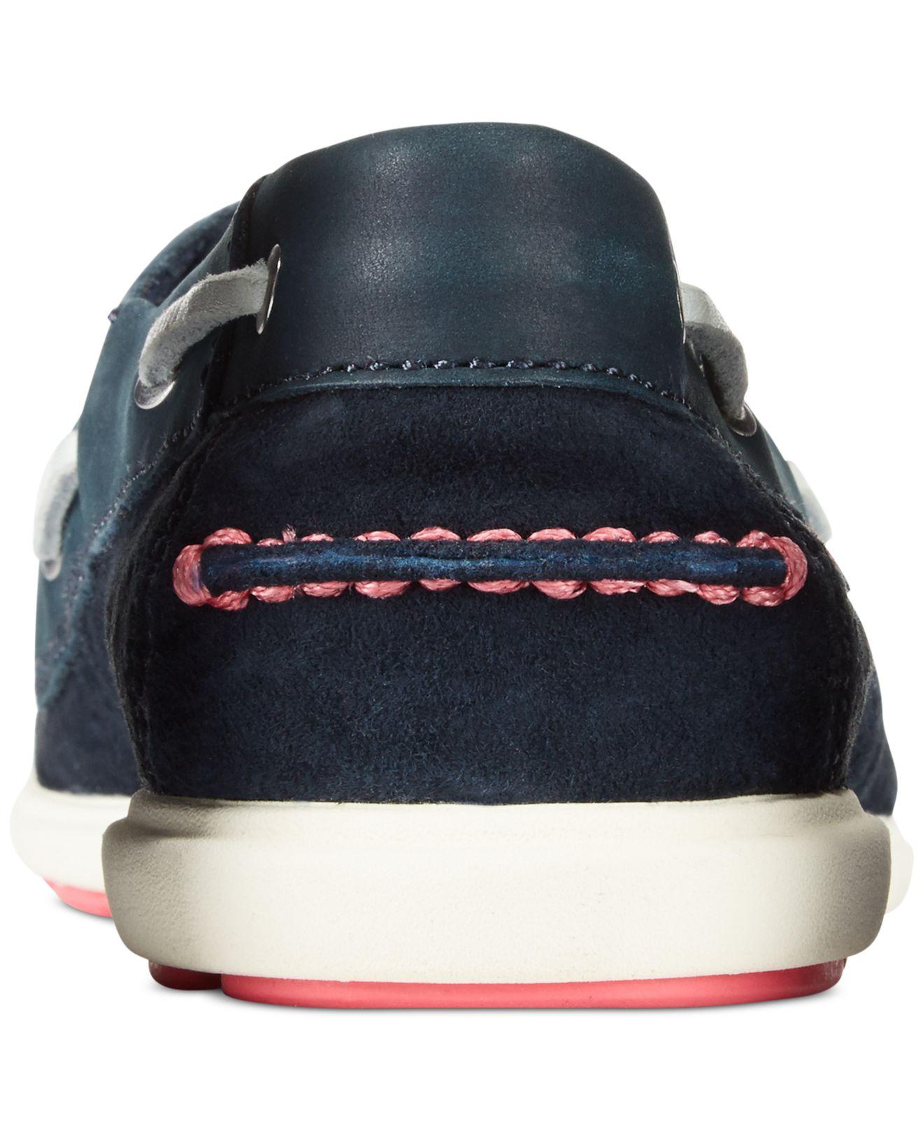 Lyst Helly Hansen Aurora Boat Shoes In Blue