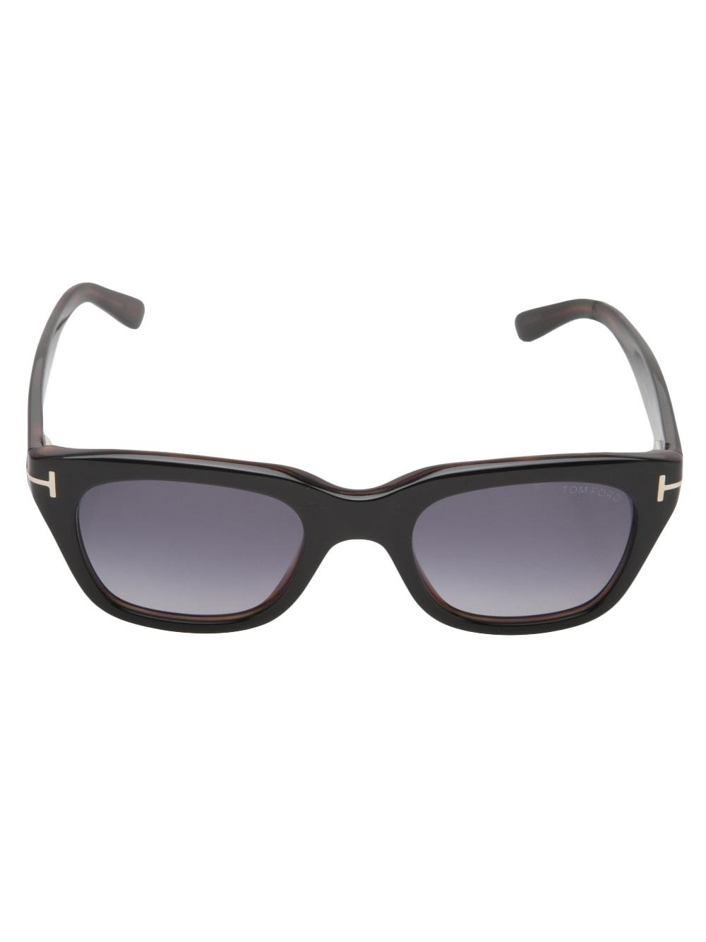 lyst tom ford snowdon sunglasses in black. Black Bedroom Furniture Sets. Home Design Ideas