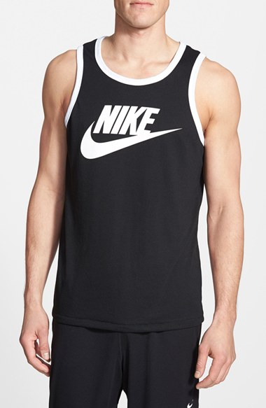 a869eaec1845b Lyst - Nike  Sportswear Ace  Tank Top in Black for Men